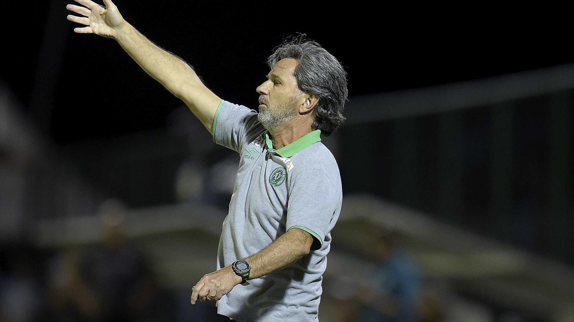 """Treinador do Chapecoense: """"Se eu morresse hoje, morreria feliz"""""""