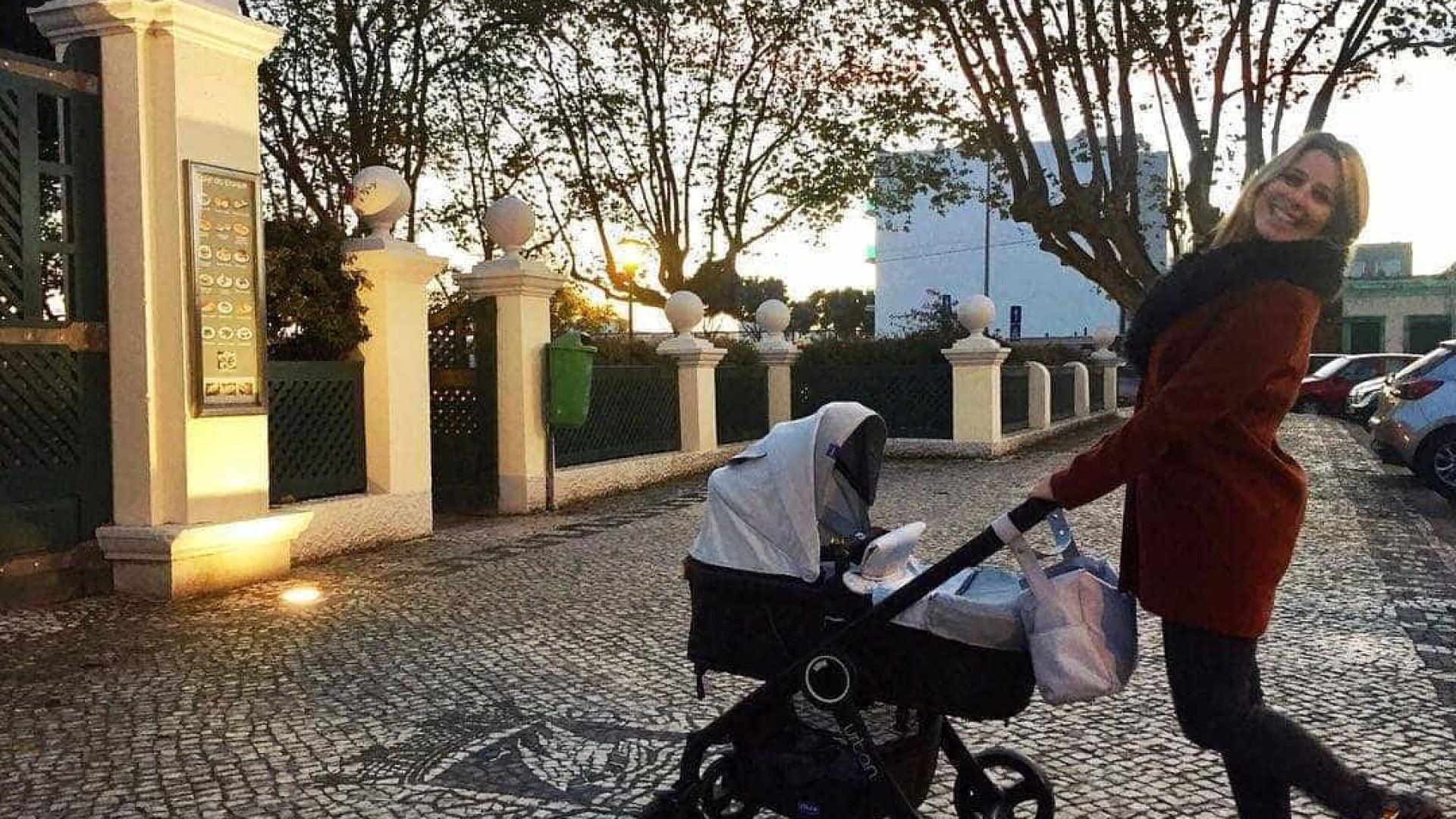 Diana Bouça-Nova celebra um mês do pequeno Francisco