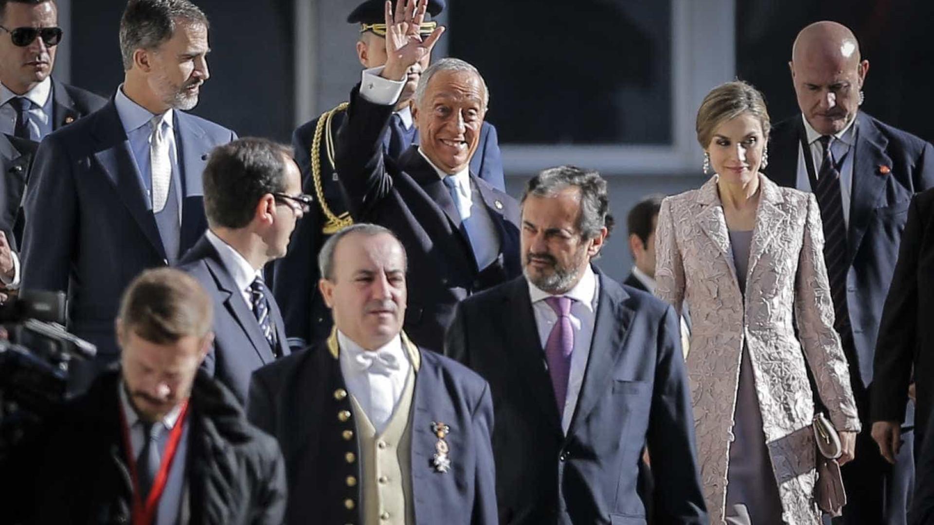 """Visita dos reis de Espanha contribuiu para formar """"uma dupla na Europa"""""""