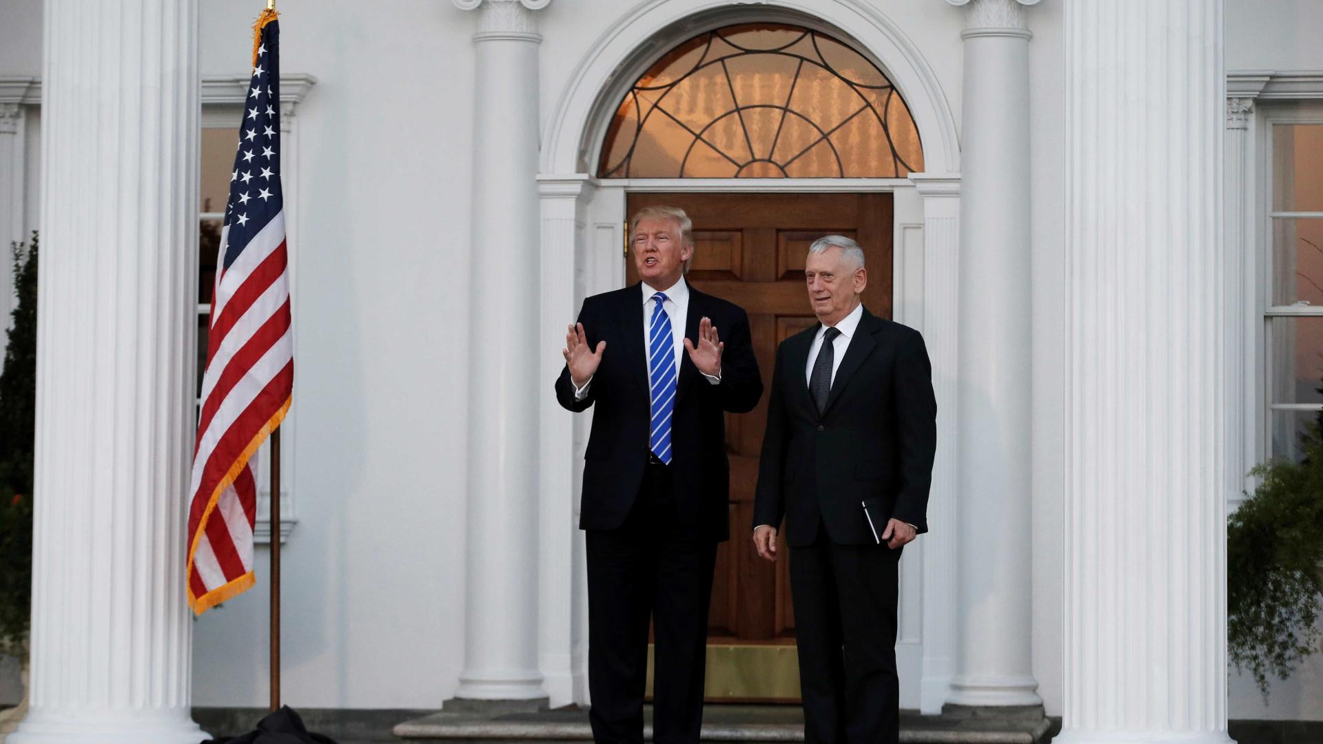 Trump já escolheu o futuro secretário de Estado da Defesa