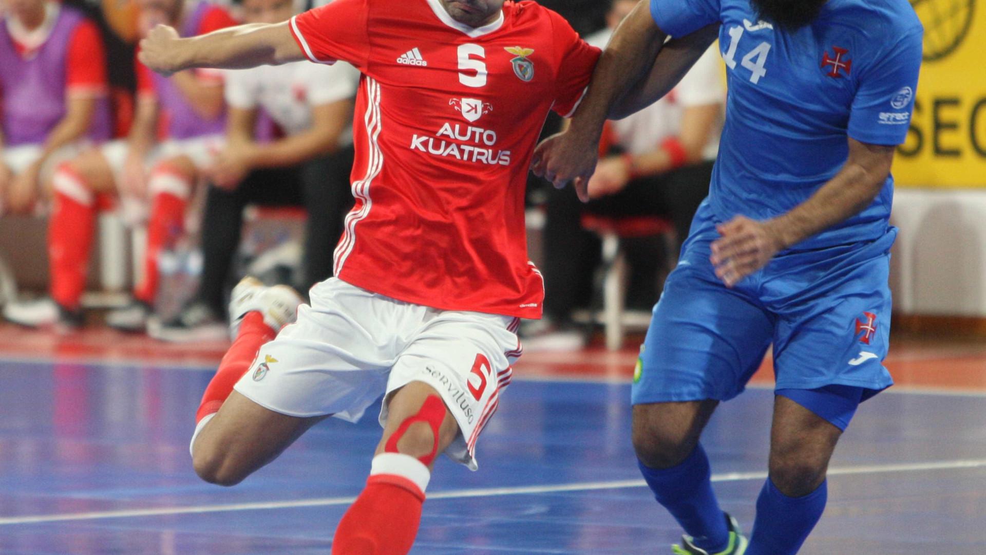 Belenenses derrota Benfica no Pavilhão da Luz