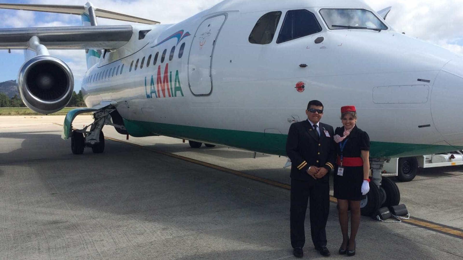 Companhia aérea LaMia só tinha 15 funcionários e um avião