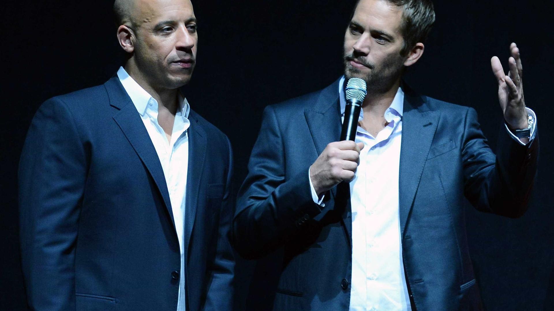 Vin Diesel emociona fãs com homenagem a Paul Walker