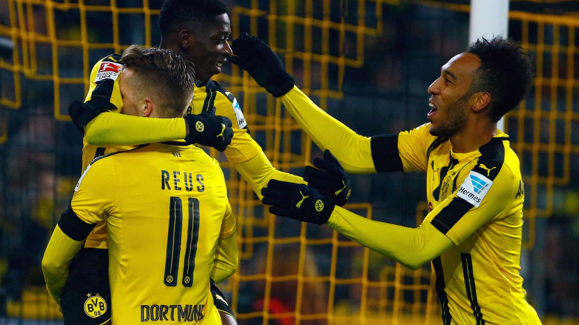 Borussia Dortmund rejeita proposta do Barcelona por Dembélé