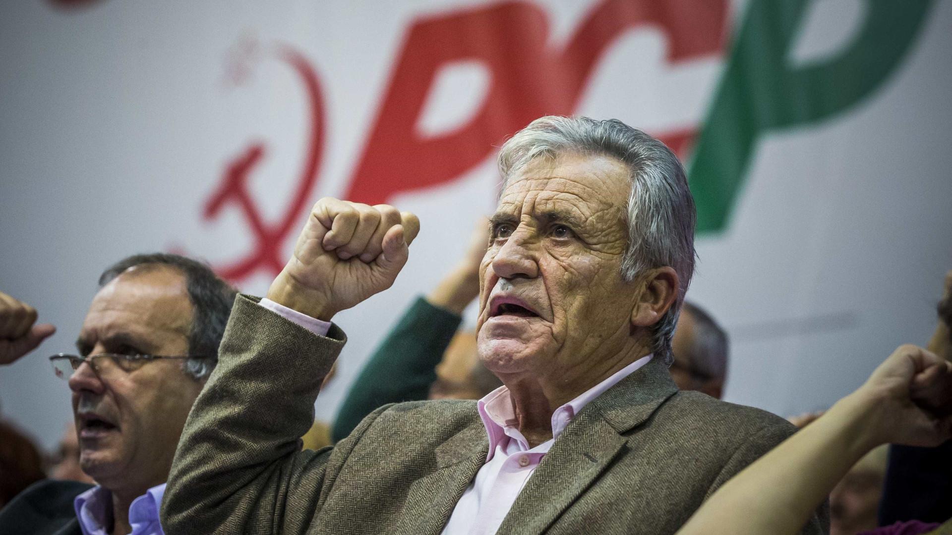 """""""O resultado das autárquicas não reduz a determinação do PCP"""""""