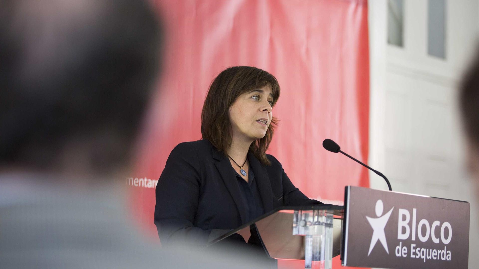 """Catarina Martins pede revogação da """"lei dos despejos de Assunção Cristas"""""""