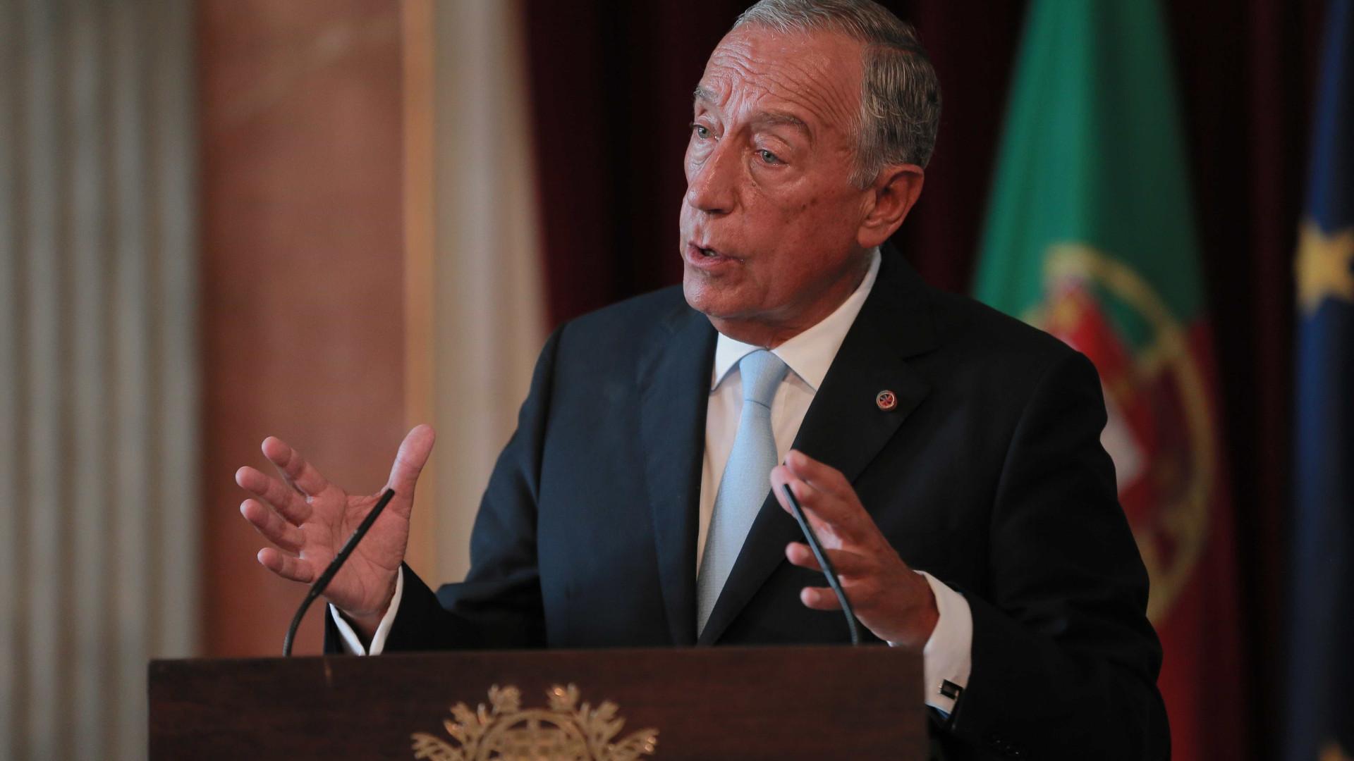 Marcelo considera que não cabe nesta legislatura revisão da Constituição
