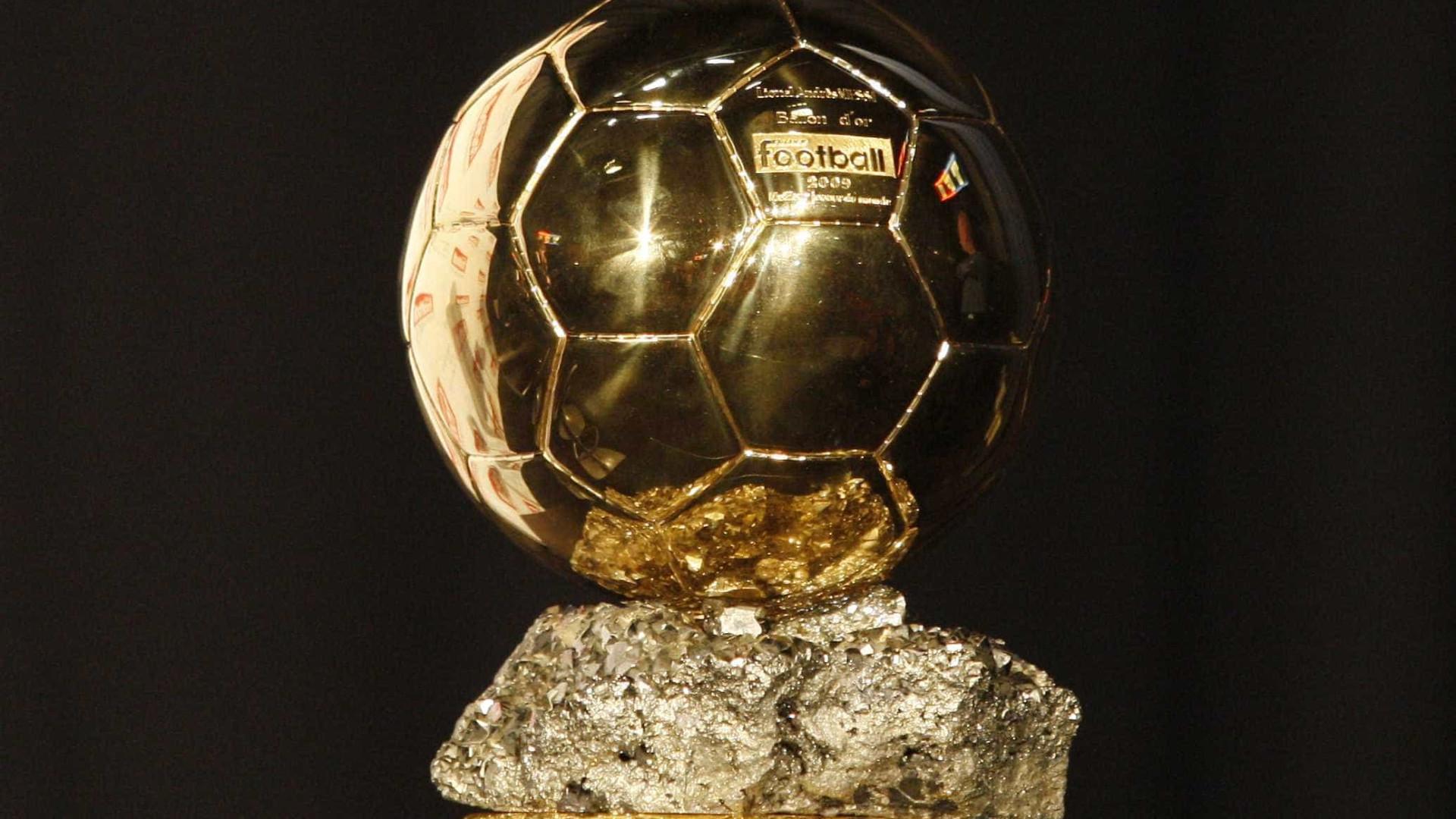 Bola de Ouro: conheça o top-30 encabeçado por Ronaldo