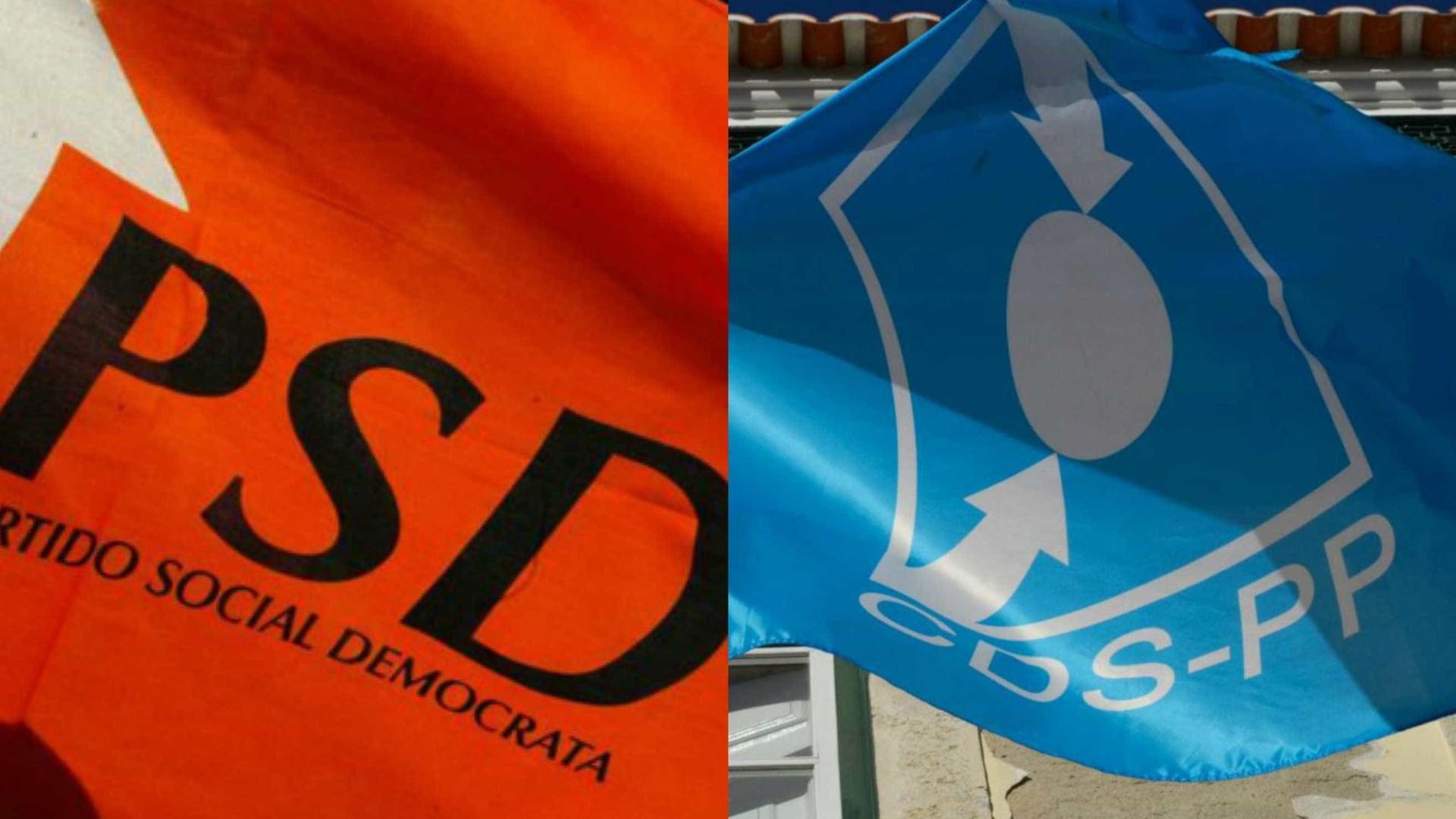 PSD e CDS concorrem coligados em 10 dos 16 concelhos algarvios