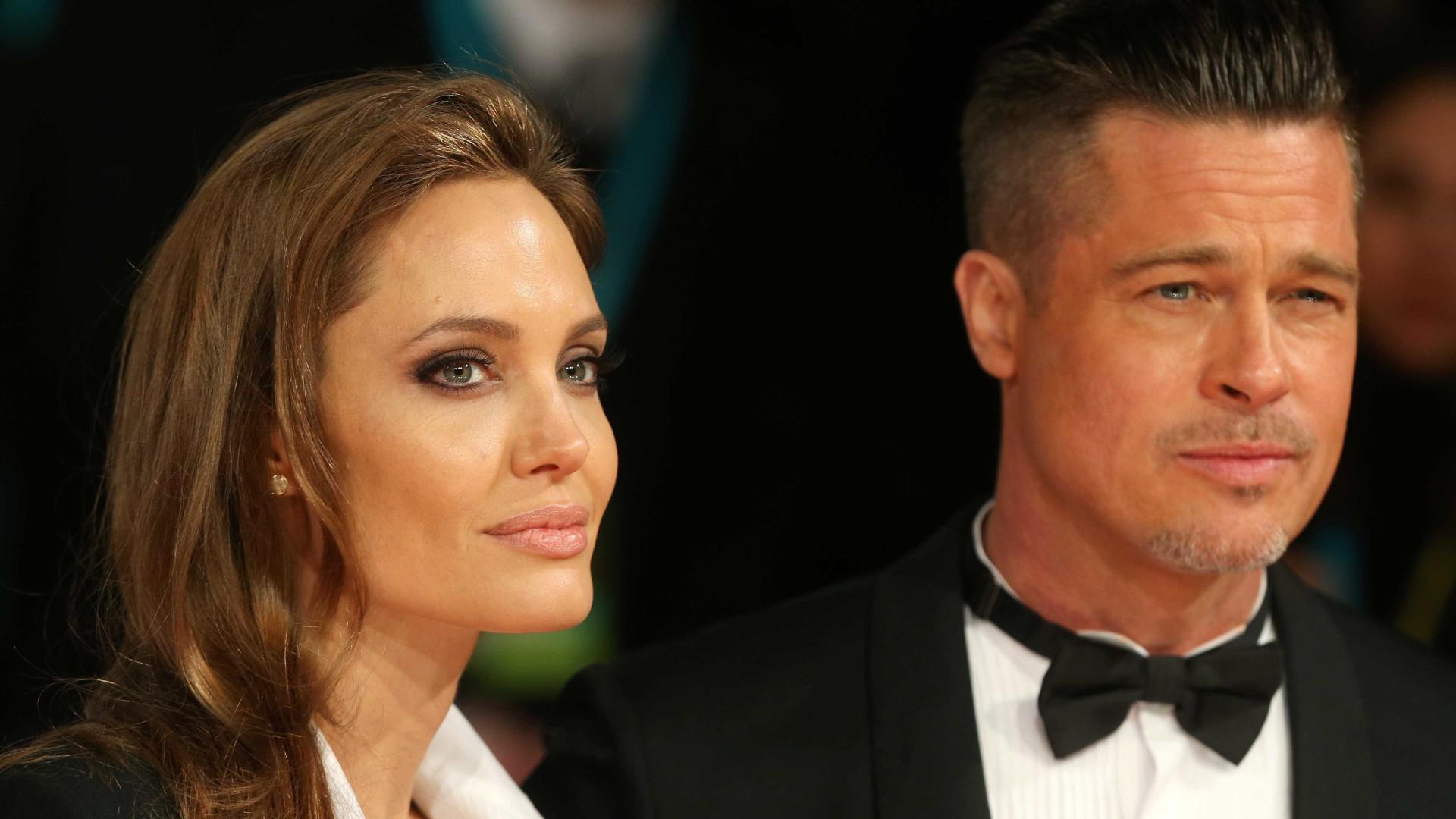 Brad Pitt e Angelina Jolie: (Des) Amores, (des) amores, negócios à parte