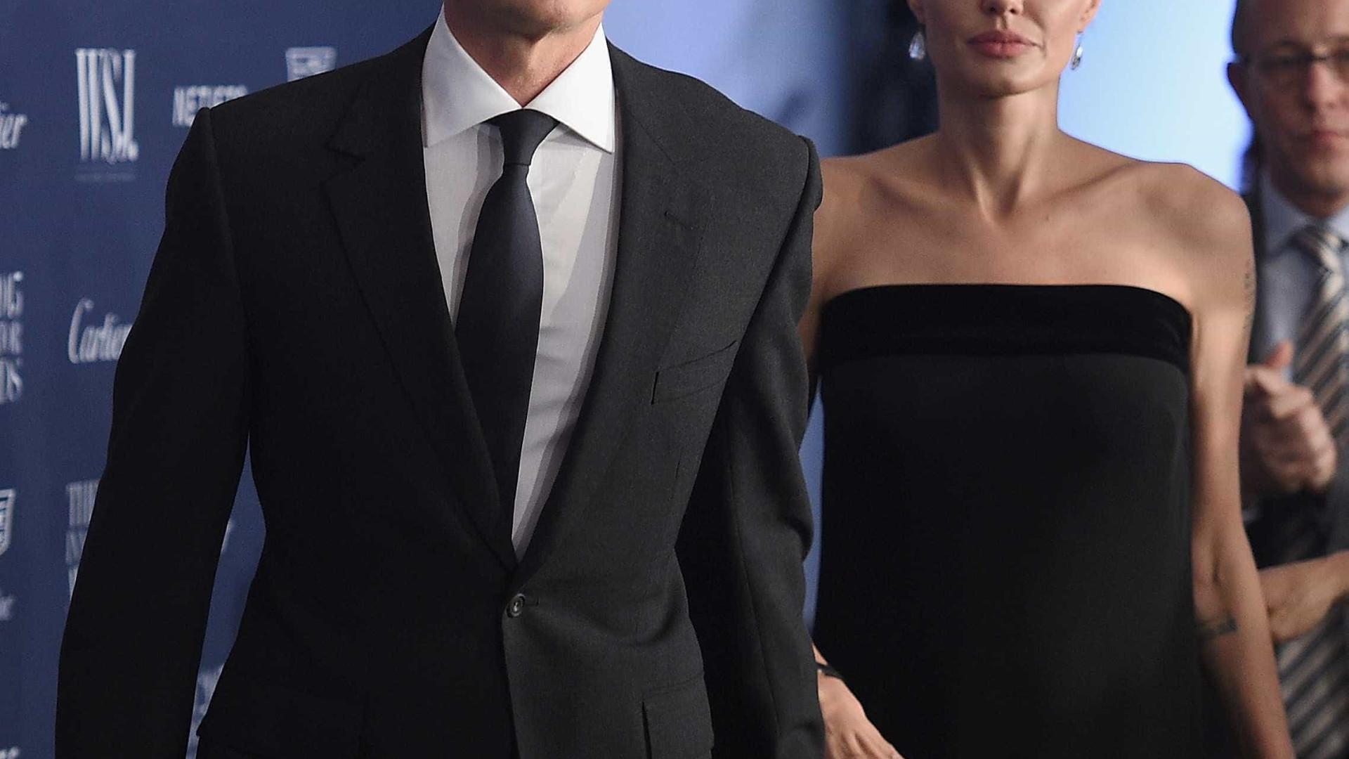 Jolie e Pitt: Porque é que o divórcio ainda não foi assinado?