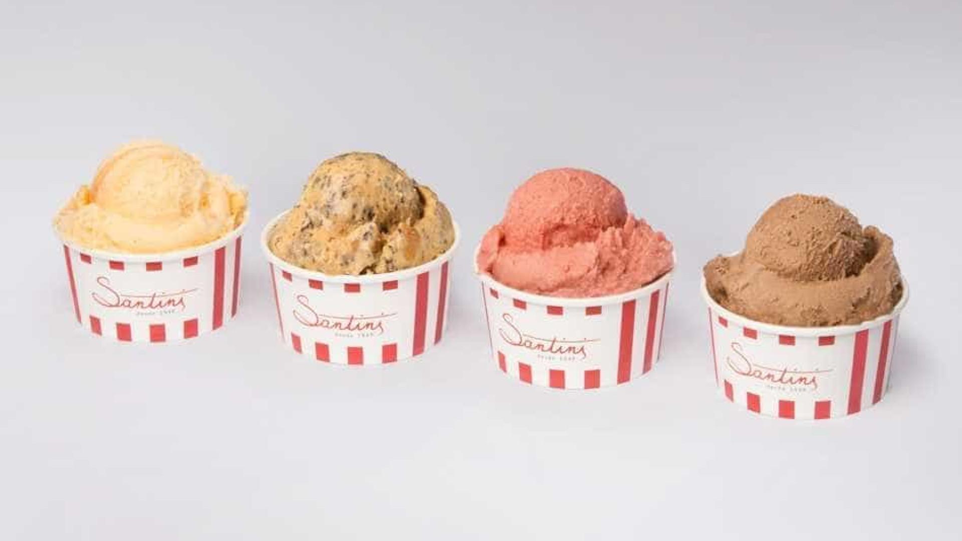 Este sábado a Santini oferece um gelado igual ao que comprar