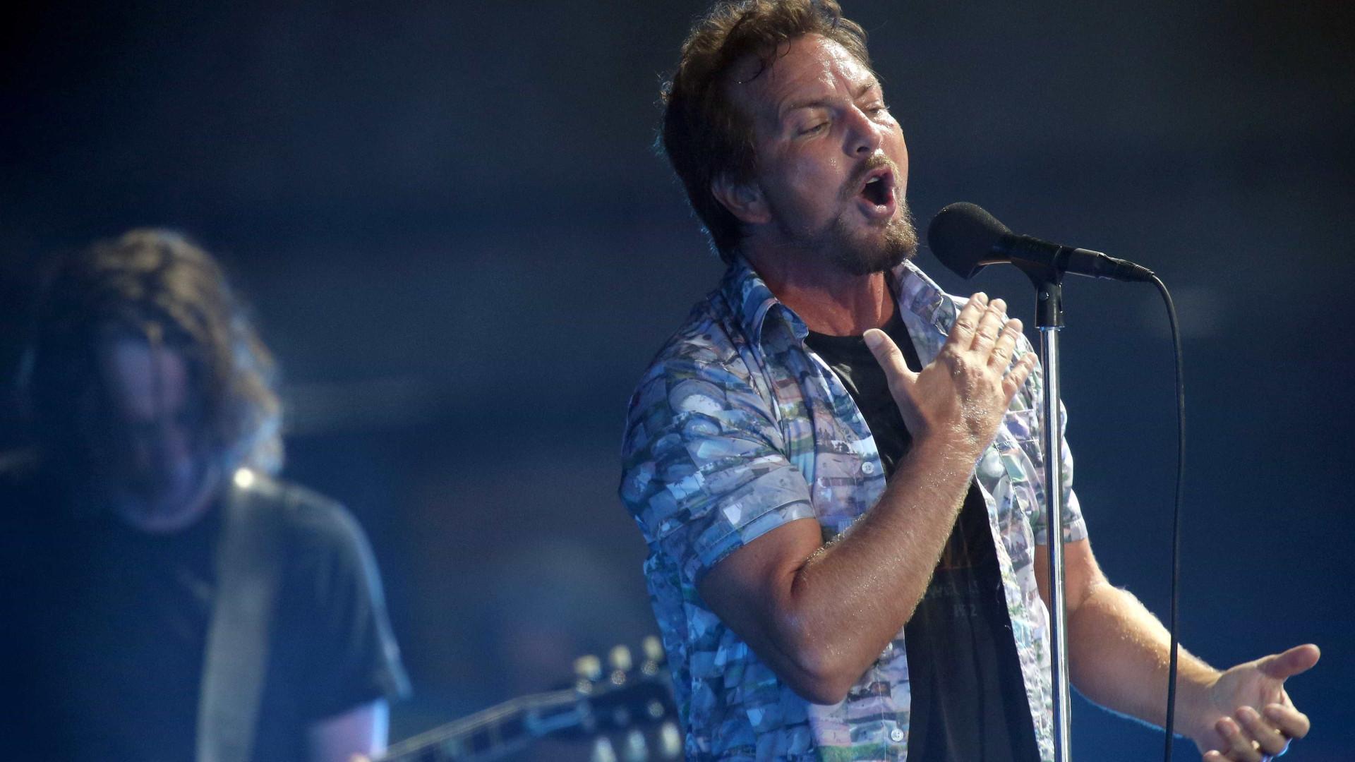 O regresso a Portugal dos Pearl Jam — NOS Alive