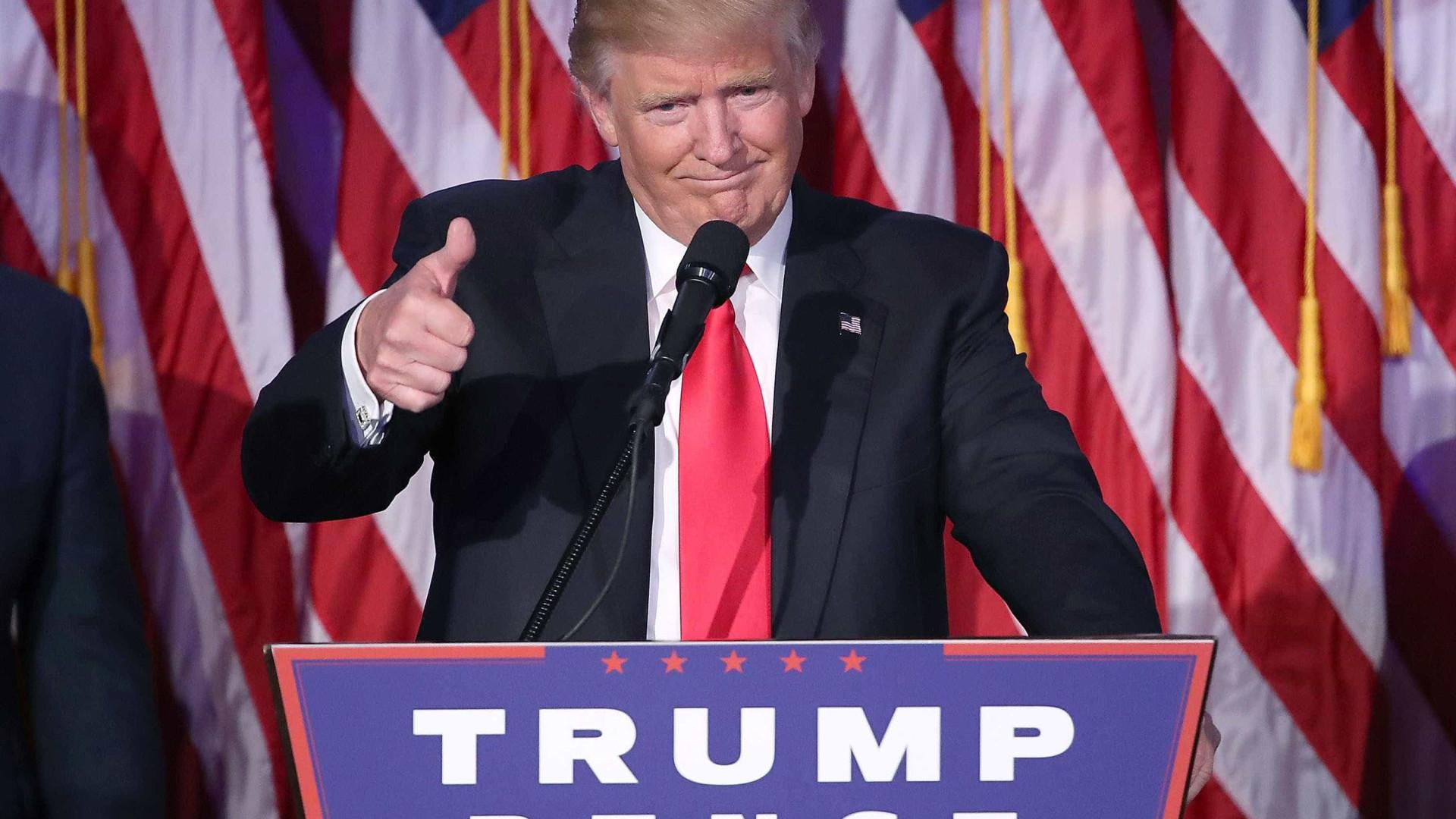Nova Iorque em alta antes do aguardado discurso de Trump