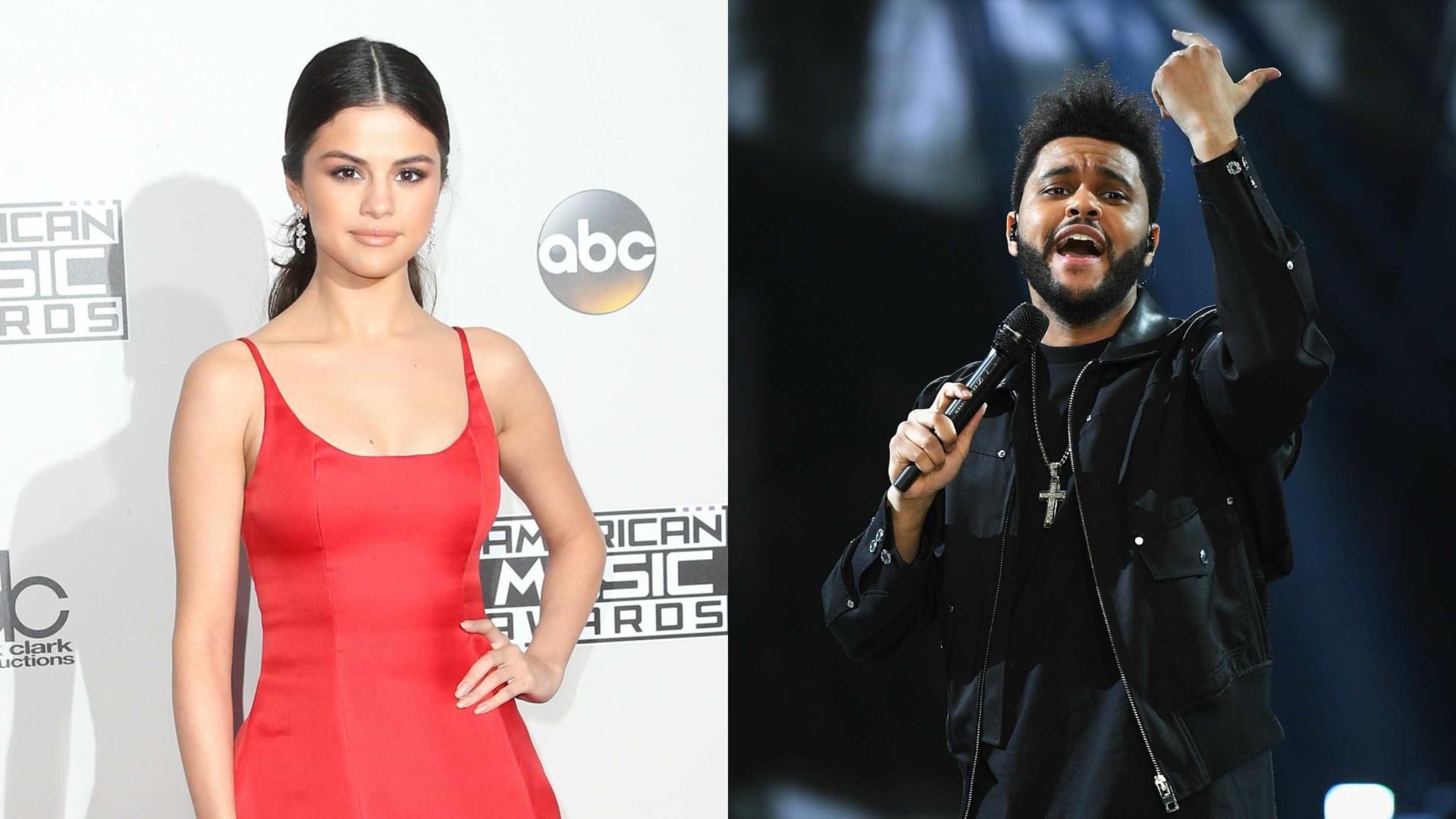 Selena Gomez e The Weeknd 'apanhados' em clima de cumplicidade