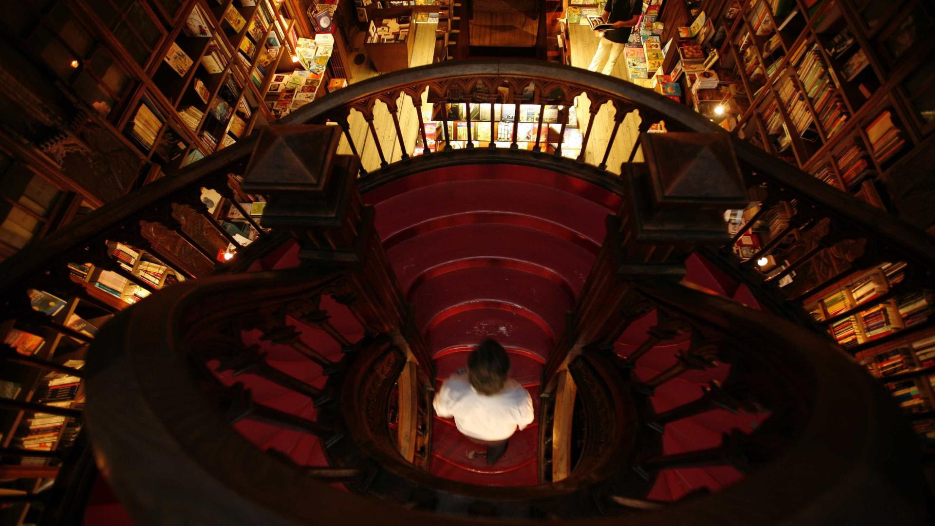Livraria Lello festeja 111 anos com oferta de livros, música e novidades