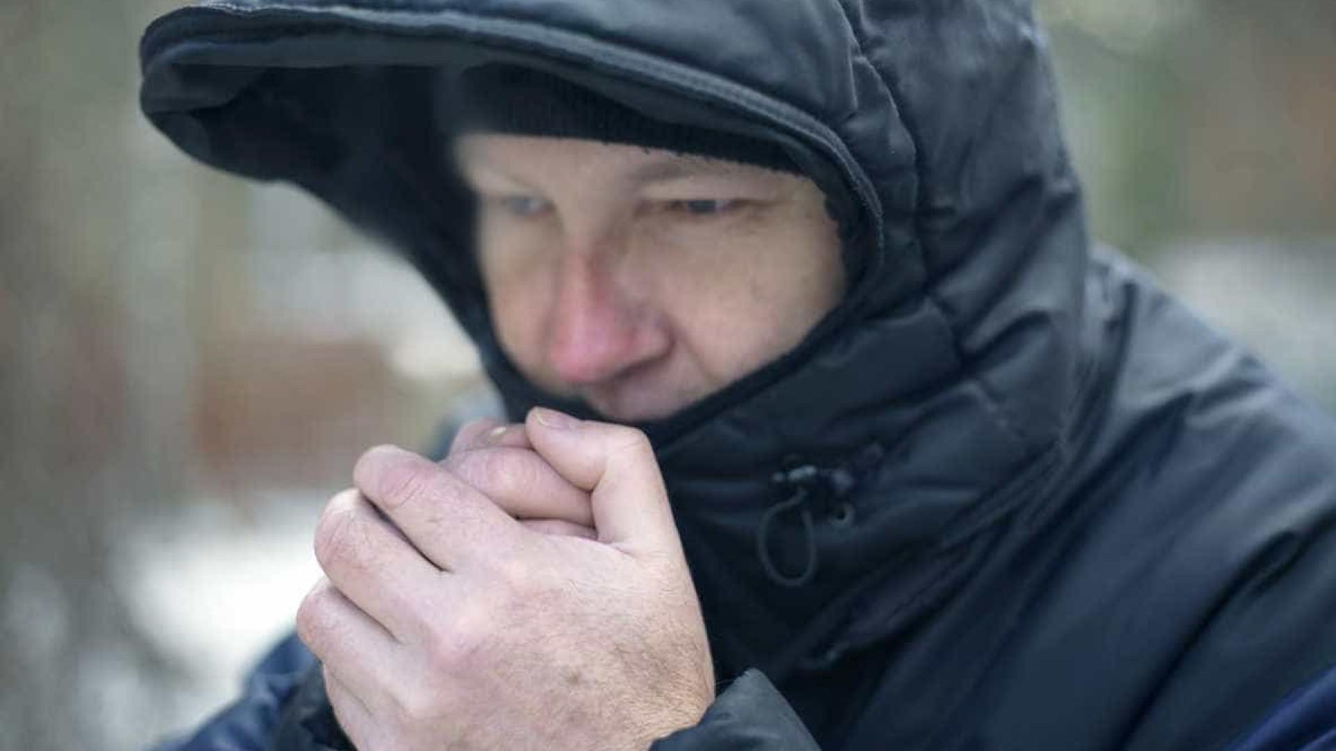 Temperaturas vão descer entre 4 a 8 graus devido a massa de ar polar