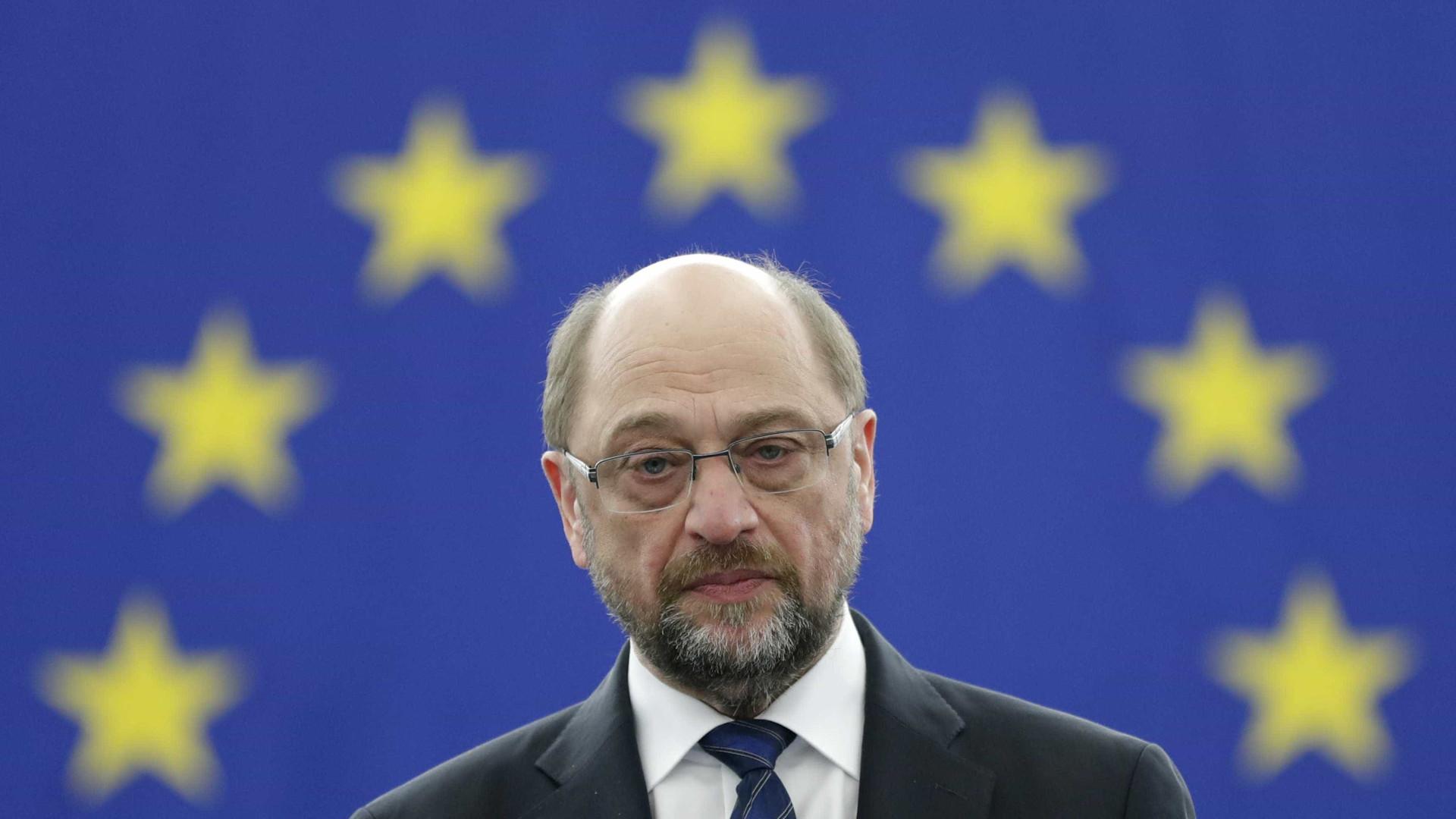 Após críticas à Alemanha, Martin Schulz responde assim a Trump