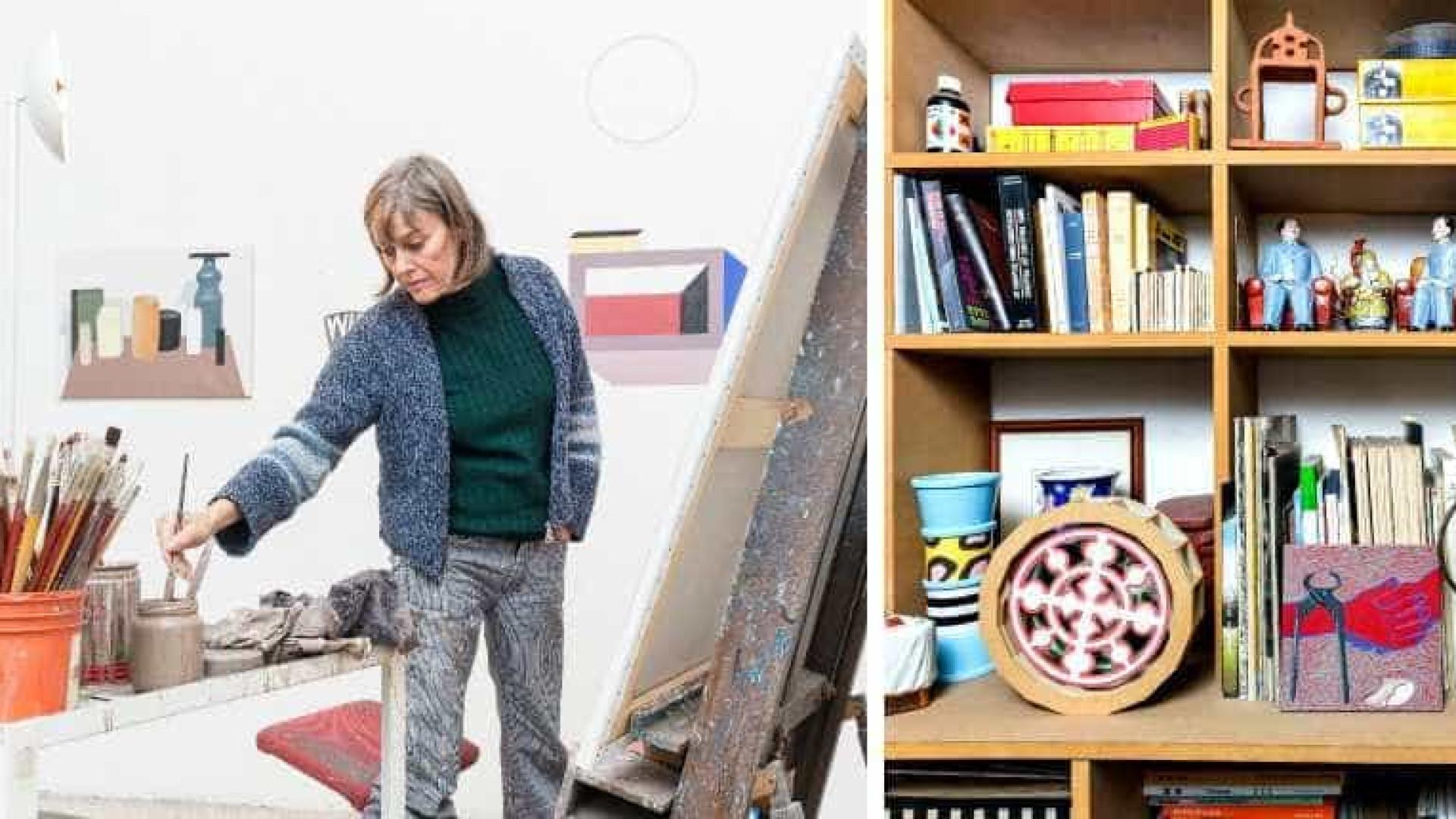 Artista Nathalie Du Pasquier expõe pela primeira vez em Portugal