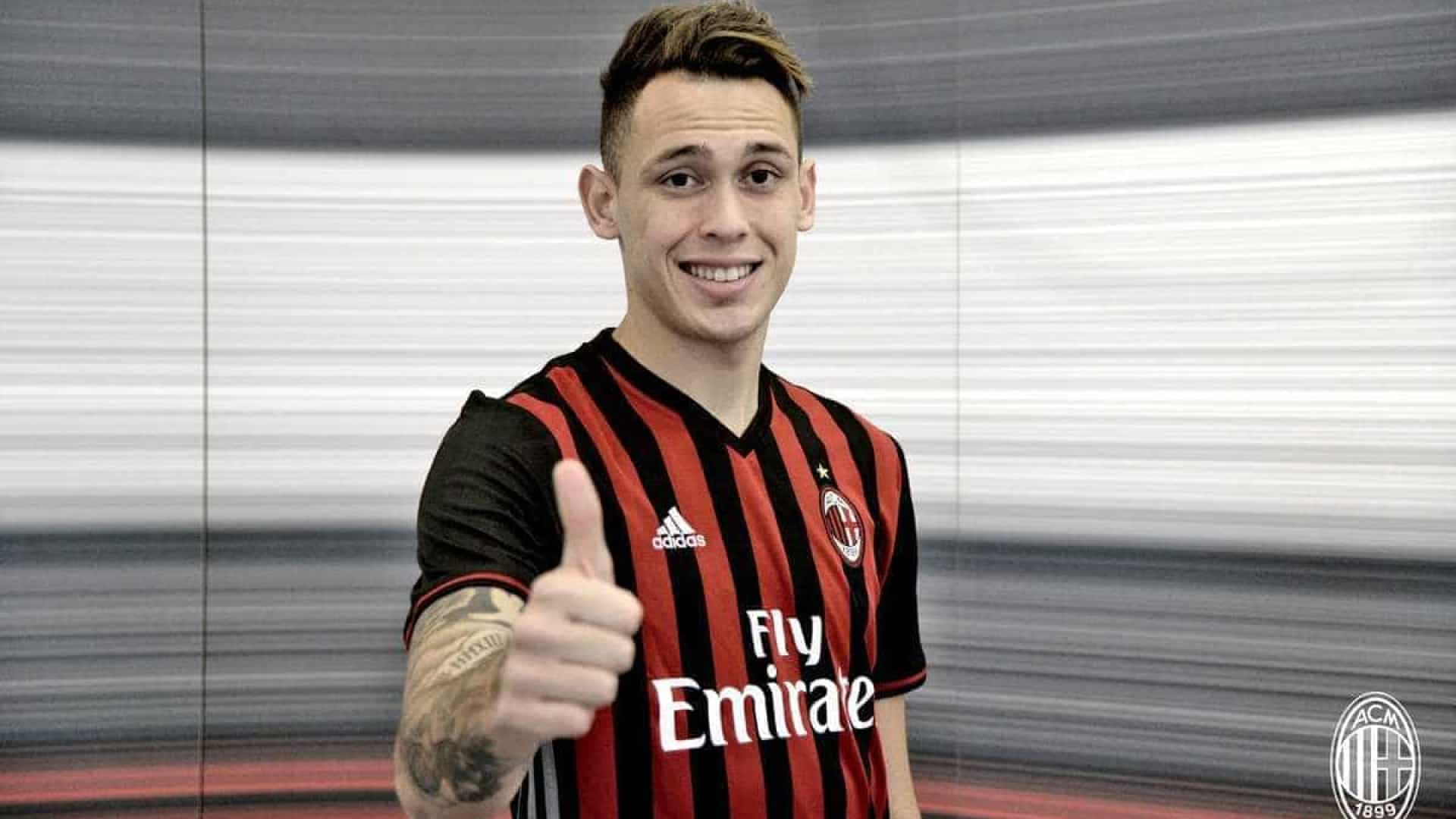 AC Milan garante empréstimo do argentino Lucas Ocampos 16b859bb0cc7d