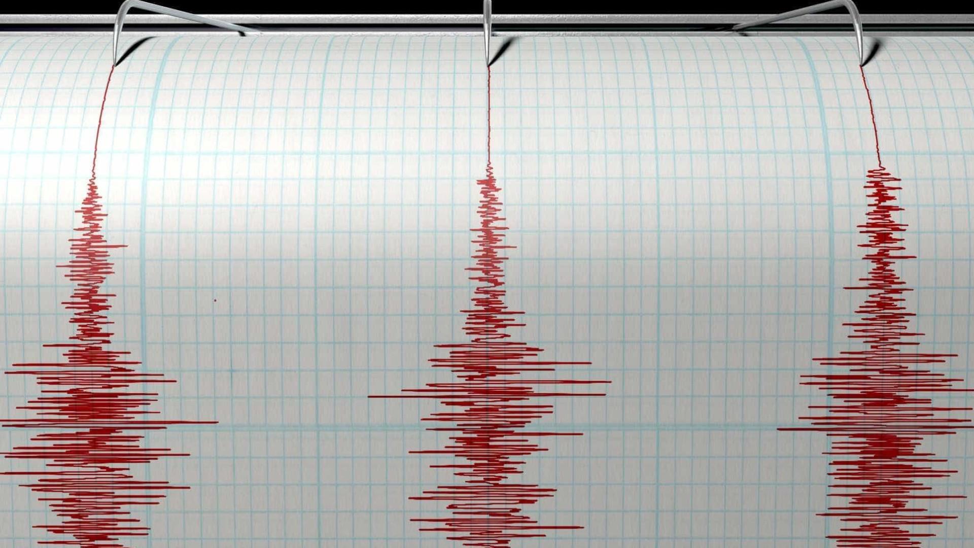 Sismo com magnitude de 3,8 sentido na ilha do Faial Naom_5890792e0d5e2