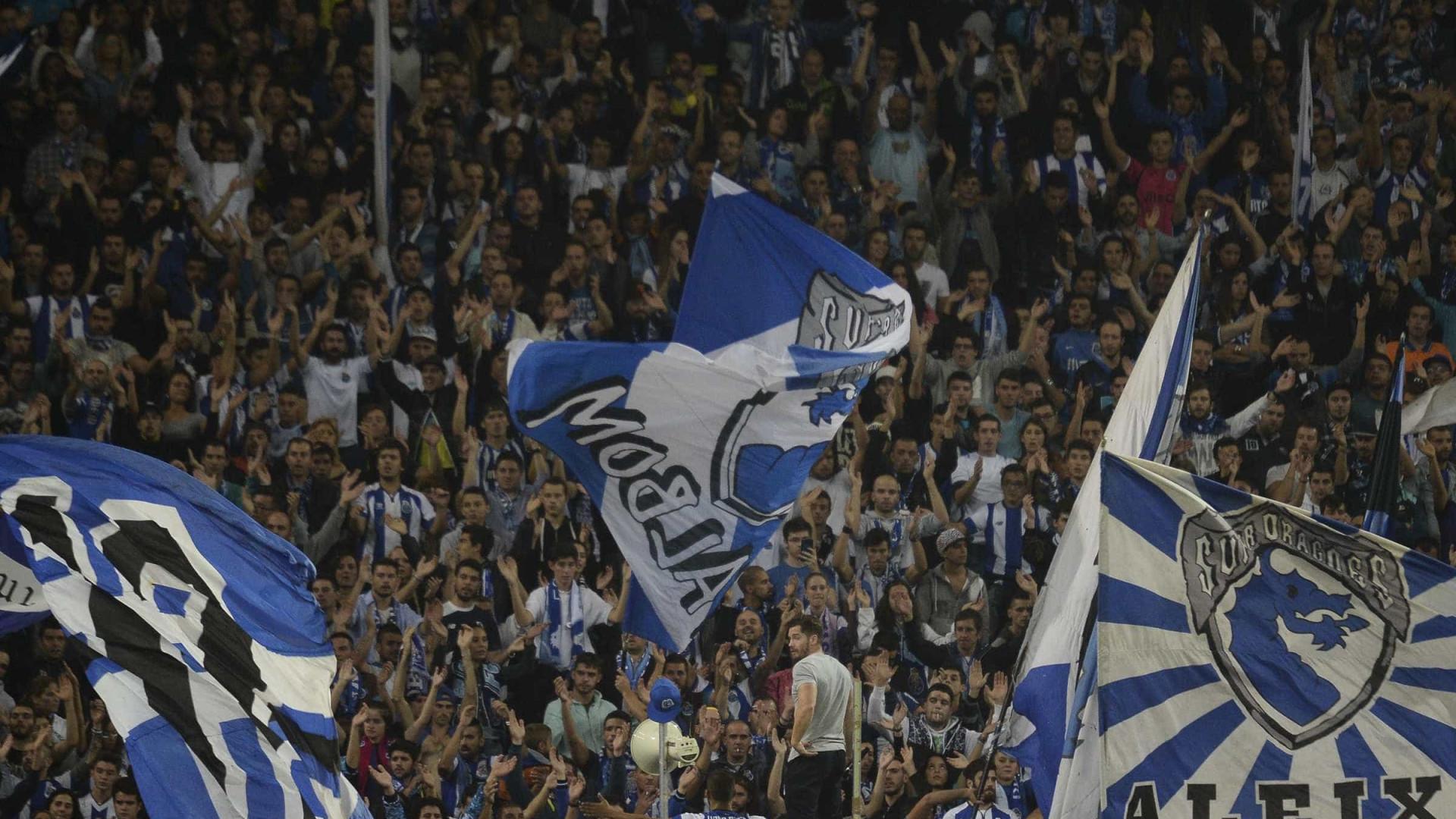 Estádio do Dragão recebeu uma 'avalanche' de  clubes europeus