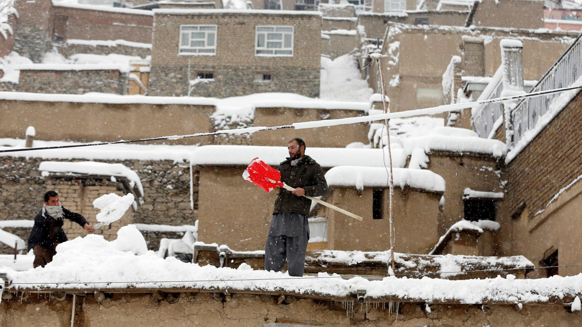 Sobe para 54 o número de mortes devido a avalanche no Afeganistão