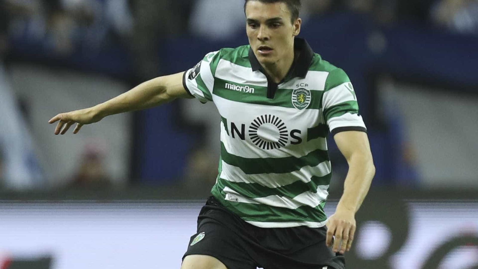 André Pinto e Palhinha nos convocados do Sporting para receção ao Setúbal
