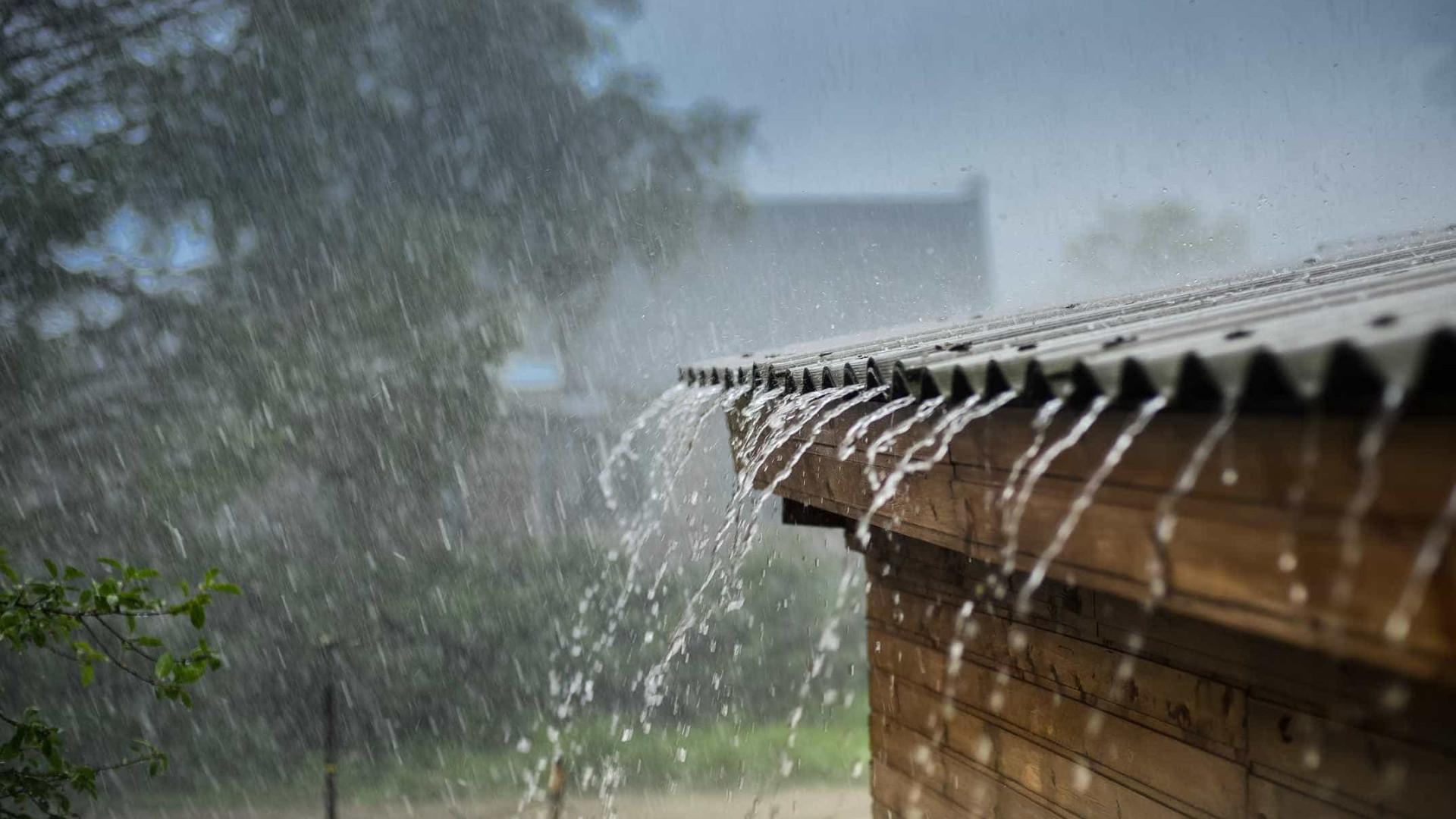 Chuva forte chegou hoje a Évora e provocou 10 inundações
