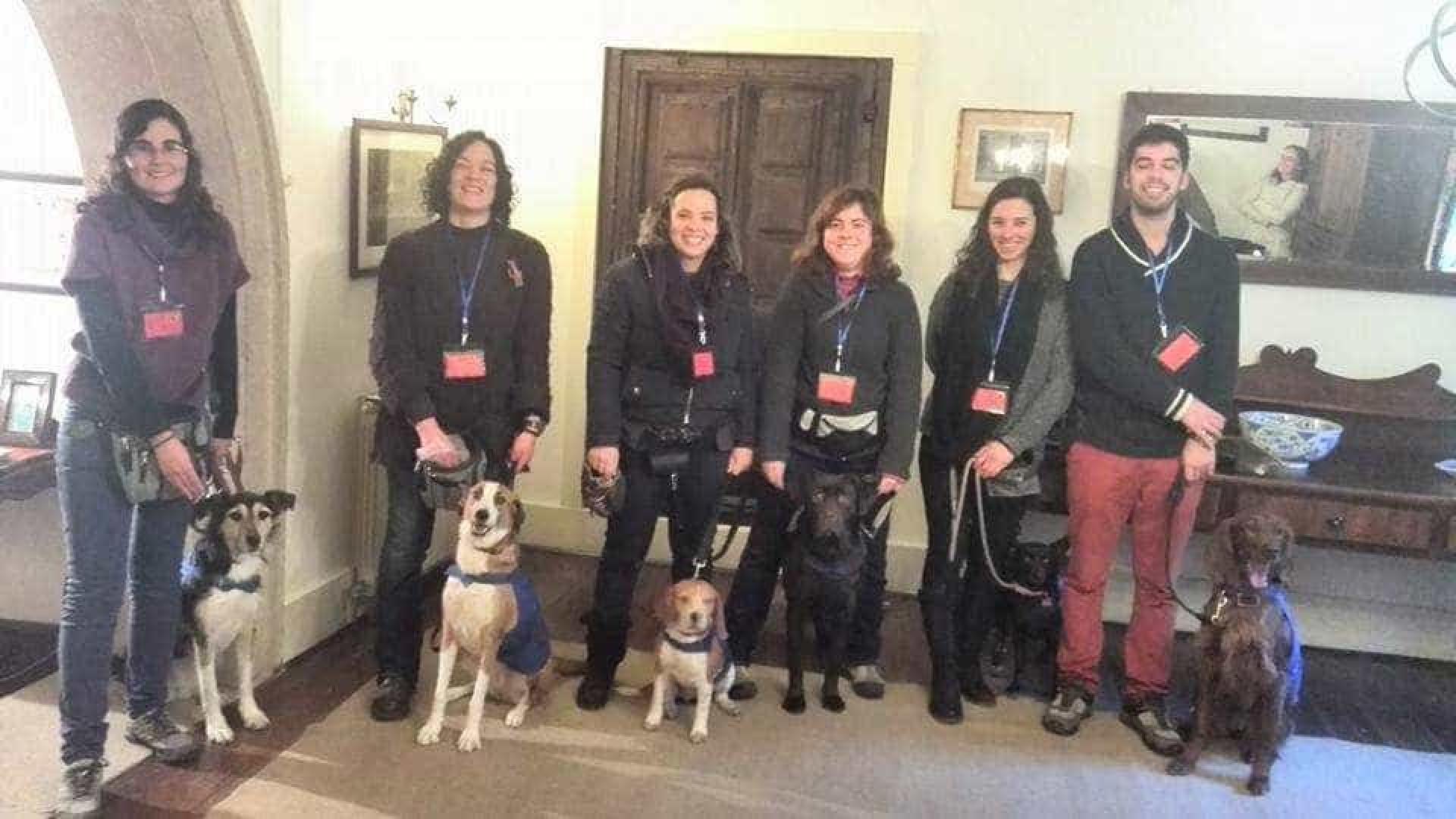 Ânimas entrega 11.º cão de assistência desde que foi criada em 2002
