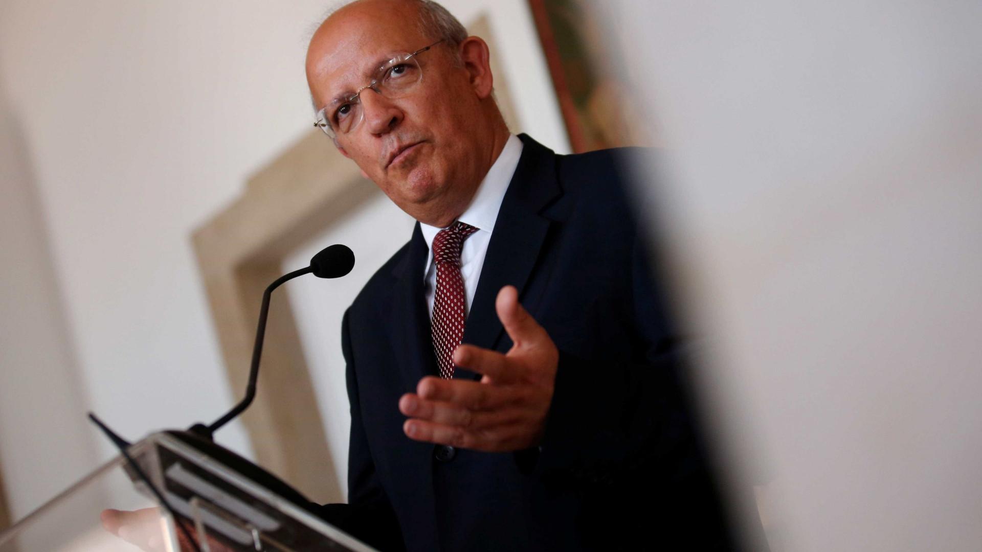 Ministro dos Negócios Estrangeiros português inicia visita de quatro dias à Venezuela