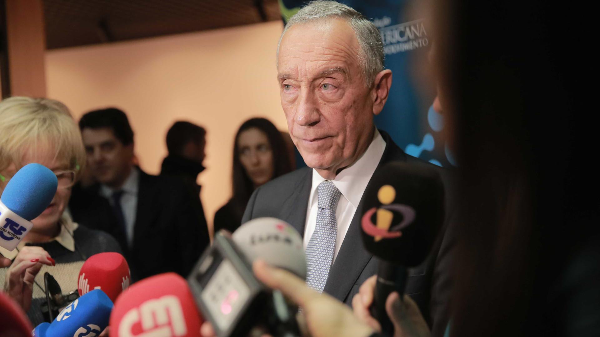"""Presidente Marcelo agradece a Arnaut """"tudo o que fez por Portugal"""""""