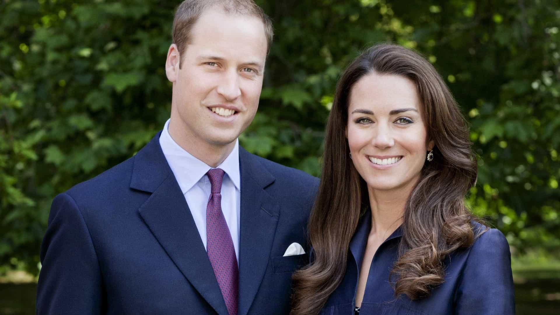 Kate Middleton terá presenteado o príncipe William no aniversário