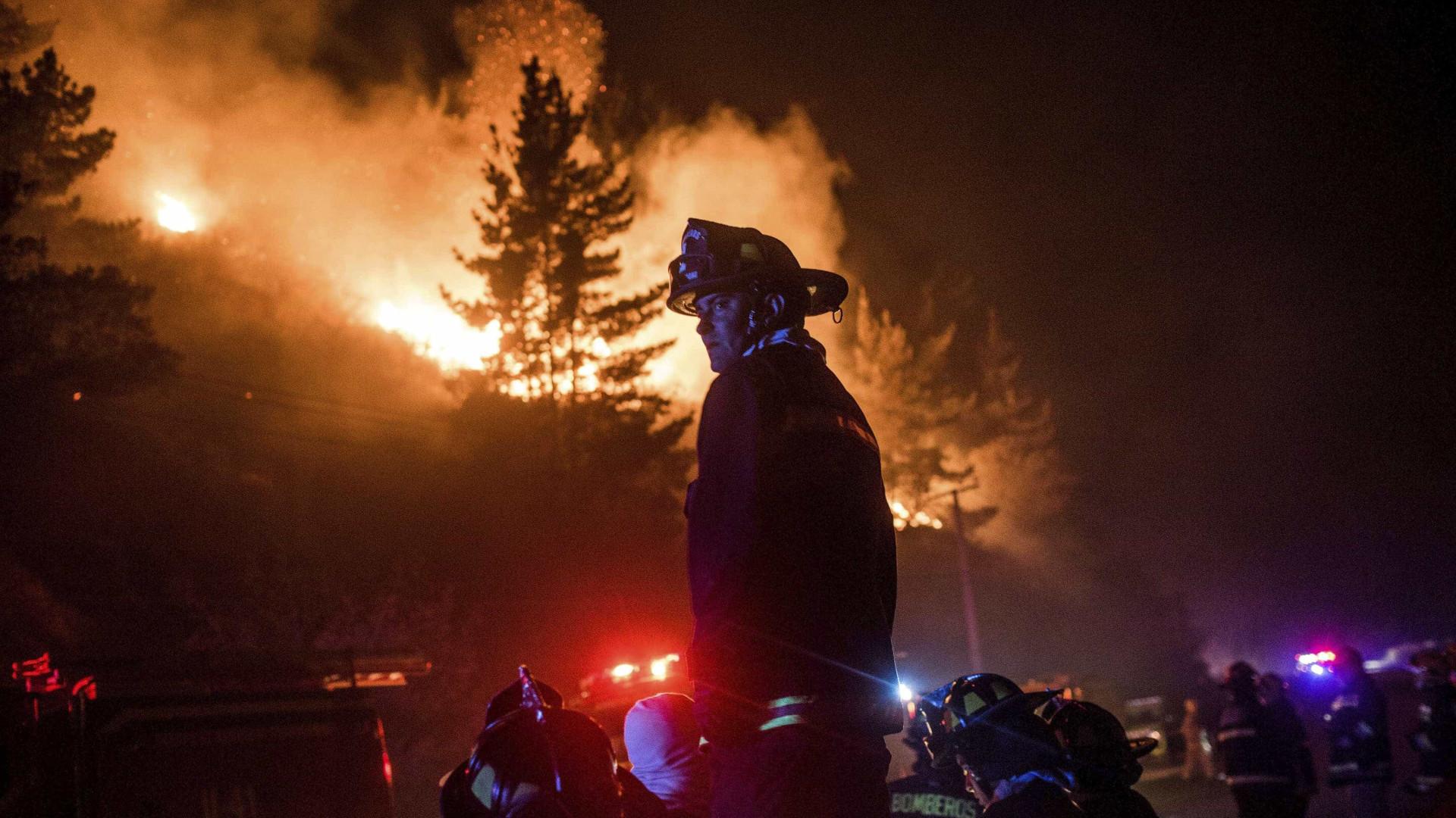 Cinco incêndios em curso no norte do país