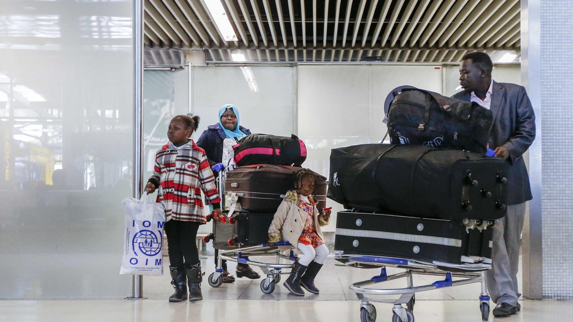 Portugal já recebeu mais de mil refugiados no programa de recolocação