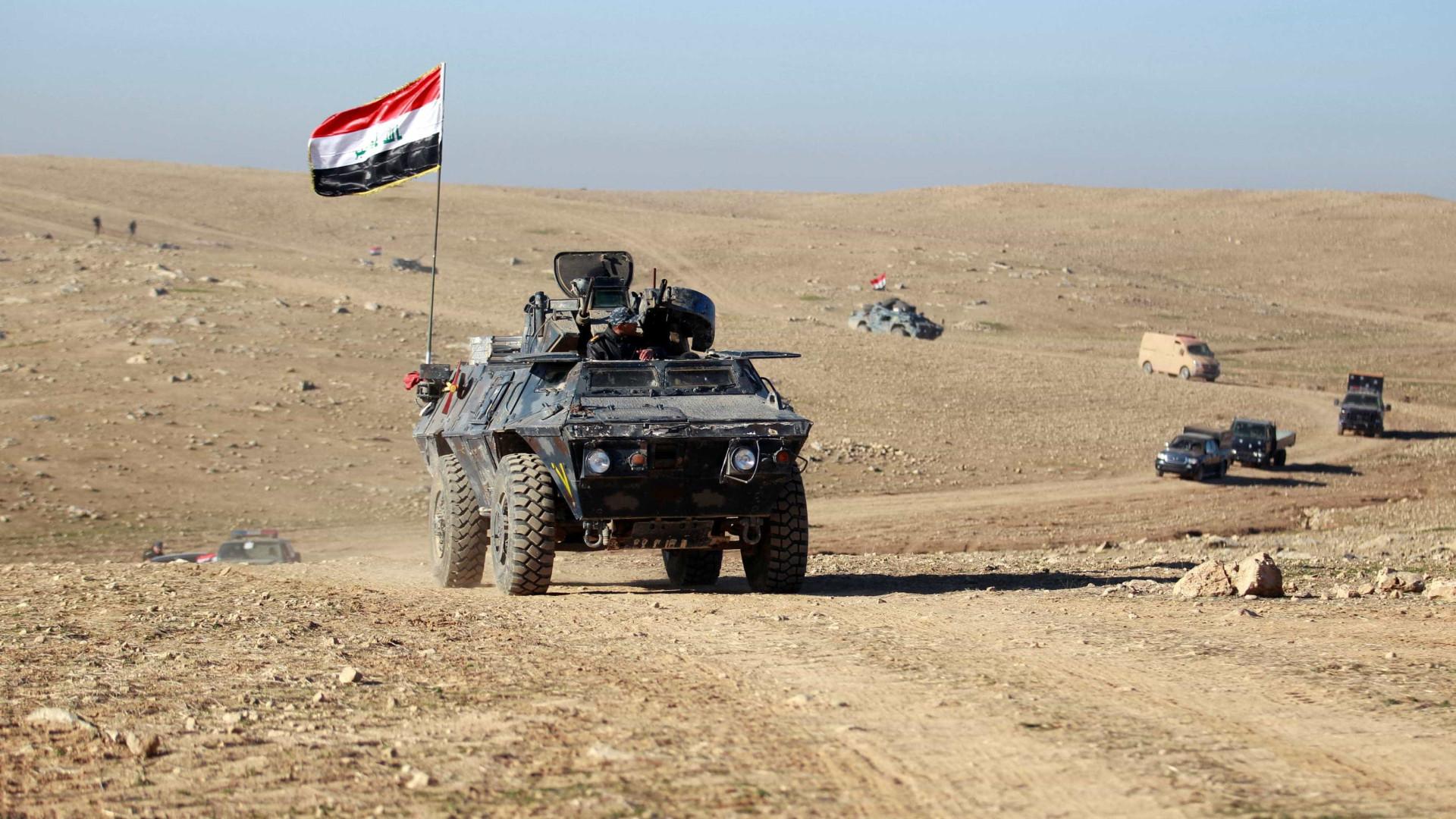 Forças iraquianas retomam ofensiva nos arredores sul de Mossul
