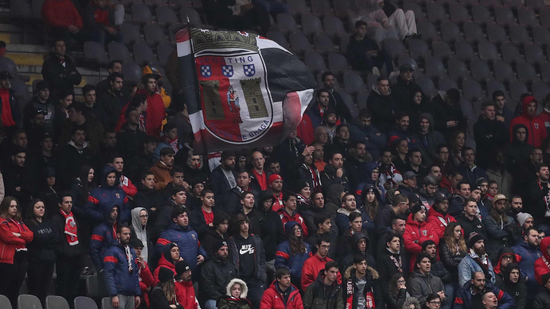 Confrontos antes do V. Guimarães-Sp. Braga resultam em alguns feridos