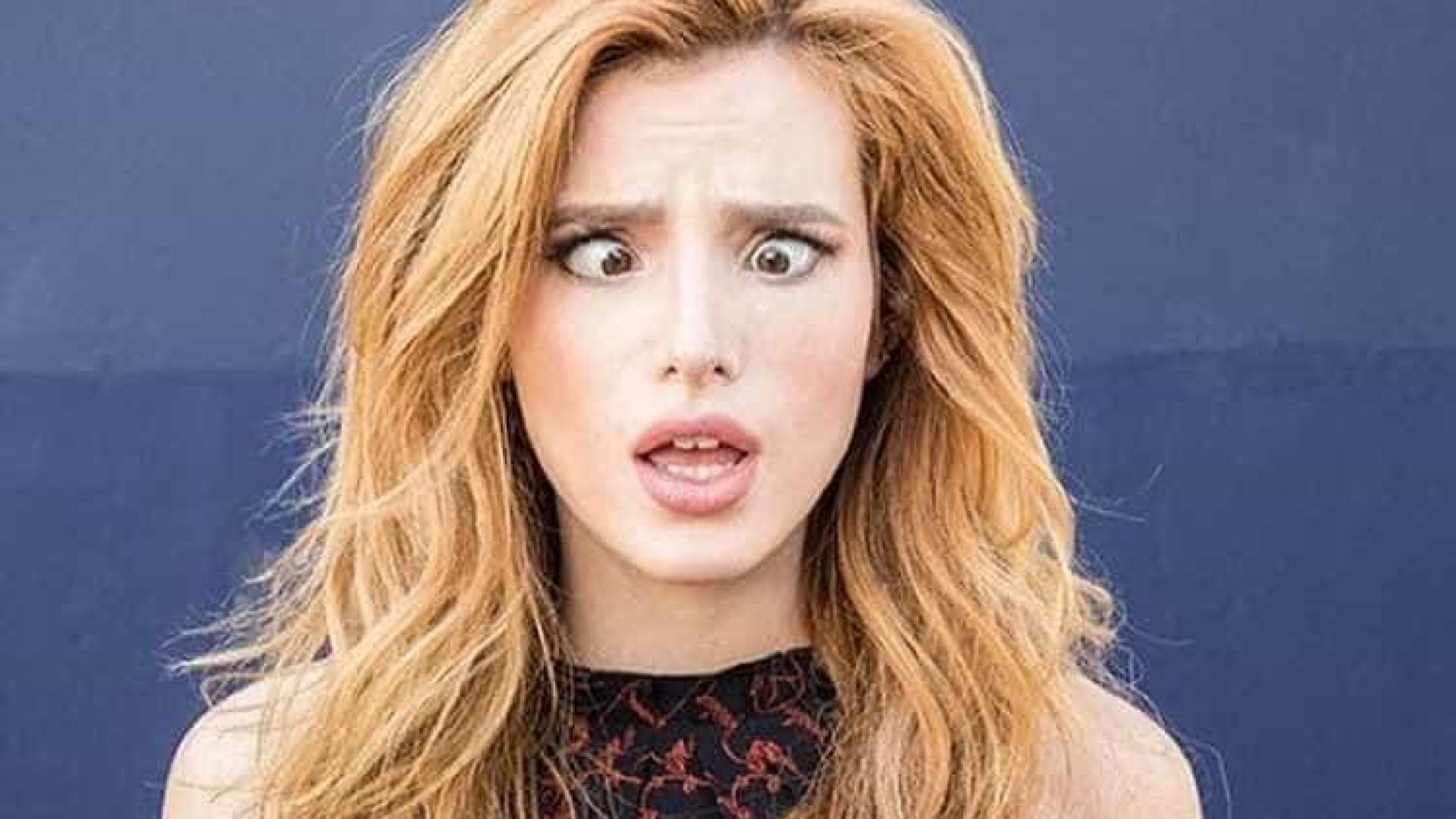Bella Thorne confessa que namora com uma mulher e um homem ao mesmo tempo