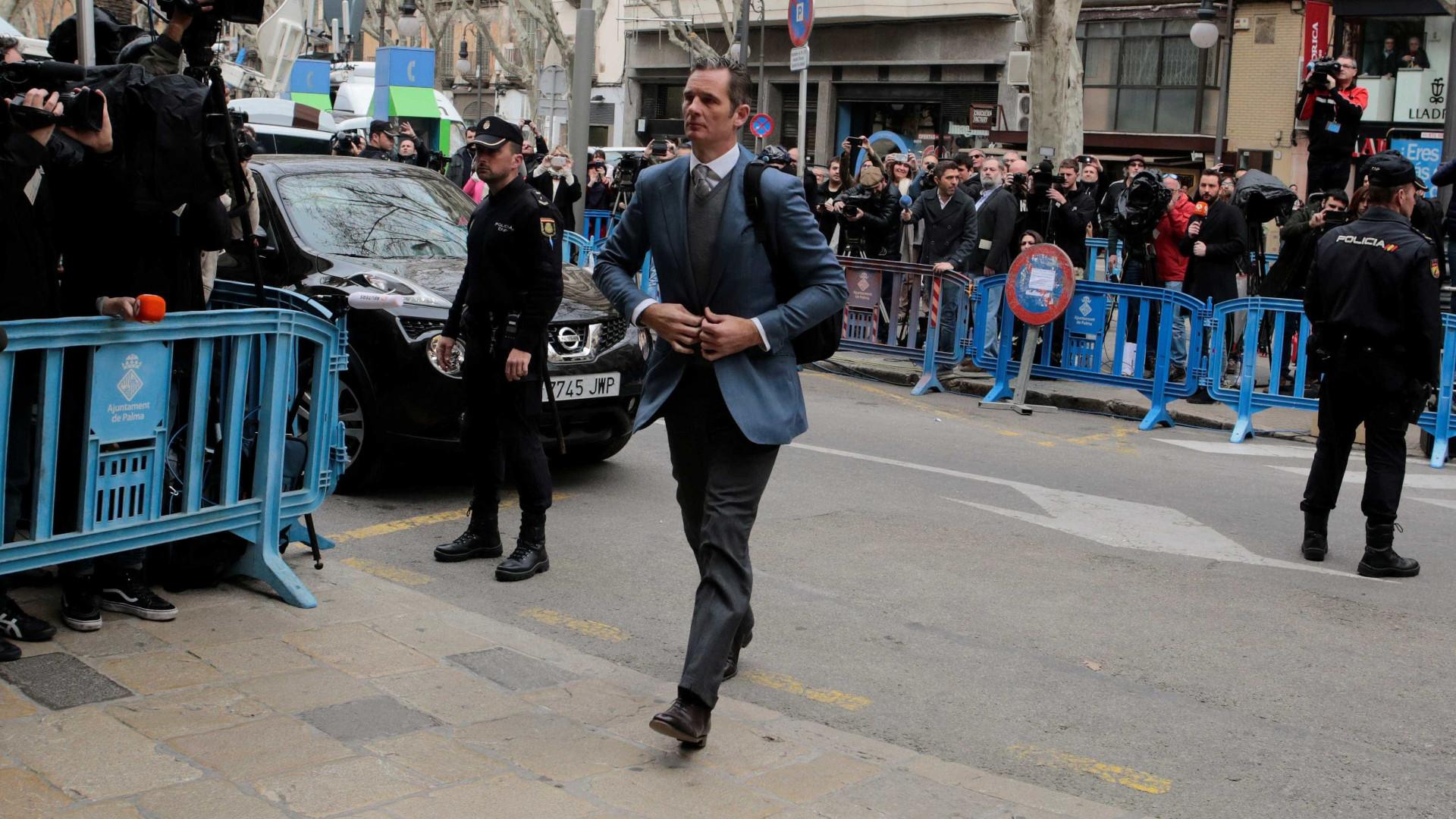 Cunhado do rei de Espanha tem cinco dias para dar entrada na prisão