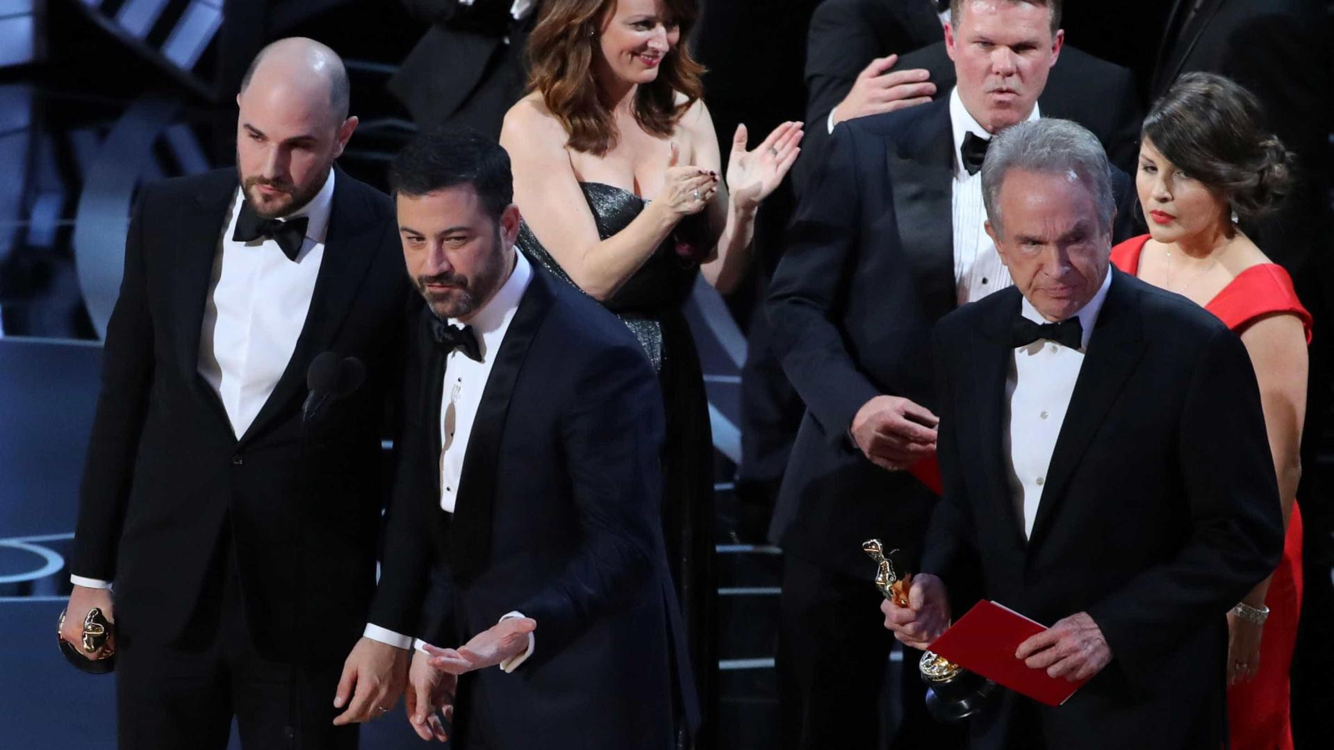 14b05987d Academia de Hollywood pede desculpa por fiasco histórico