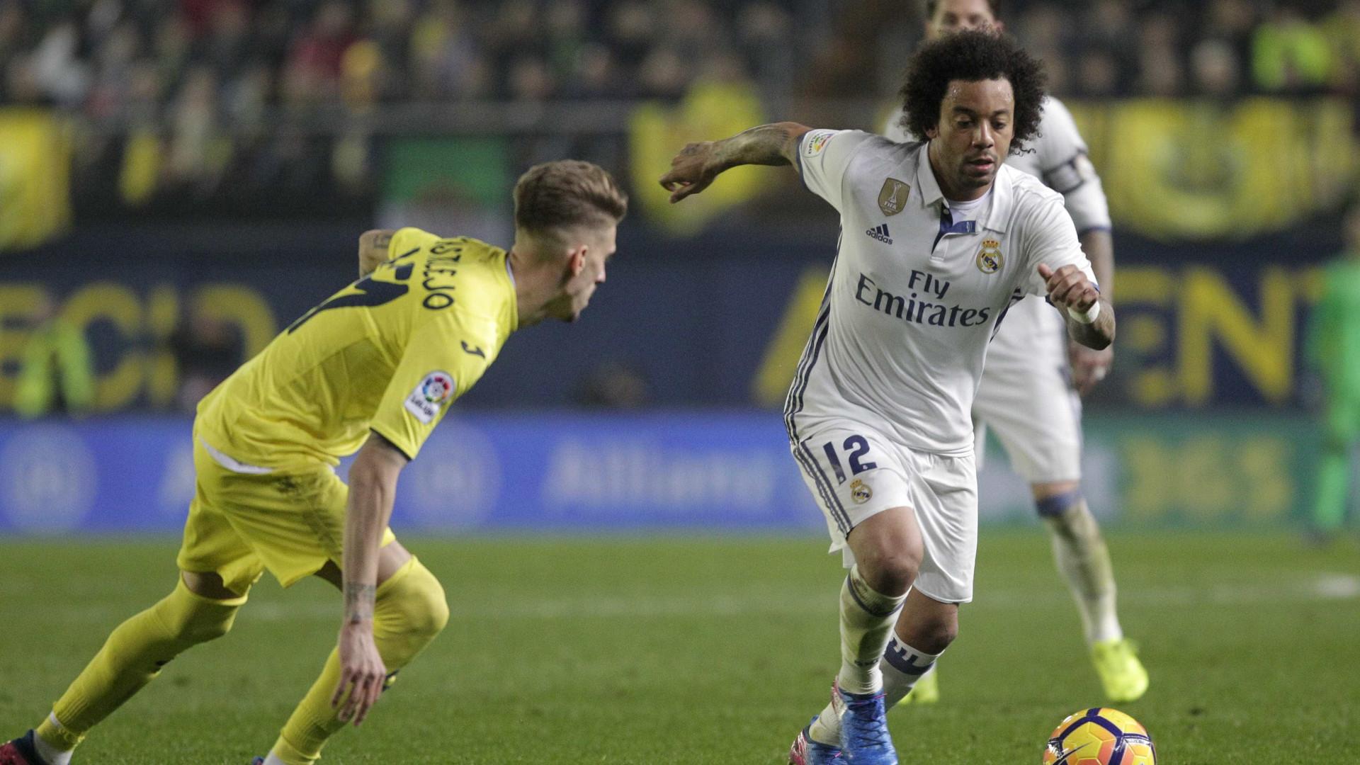 Marcelo é suspenso por dois jogos na La Liga
