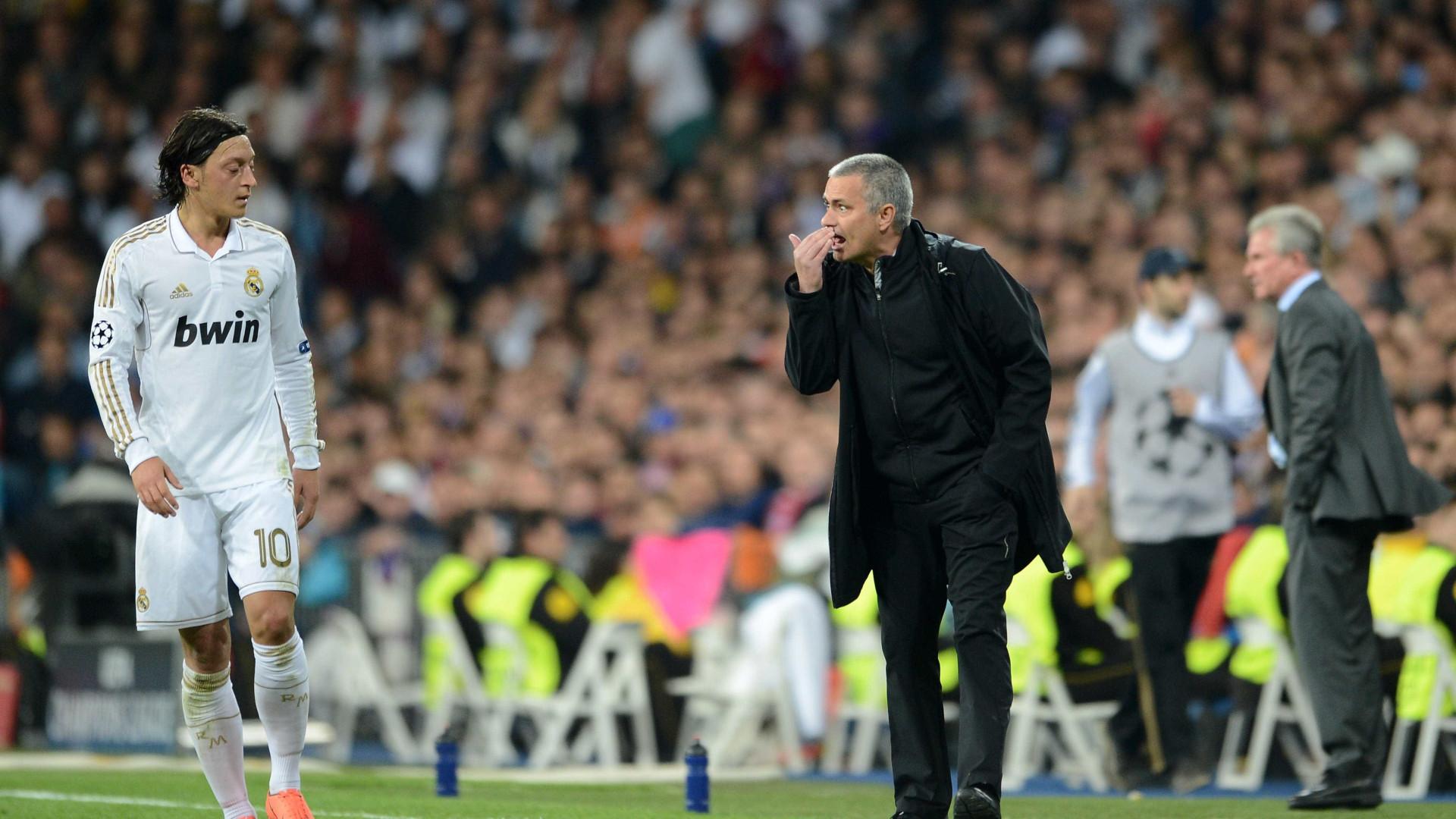 Ozil revela como Mourinho convenceu a assinar pelo Real Madrid