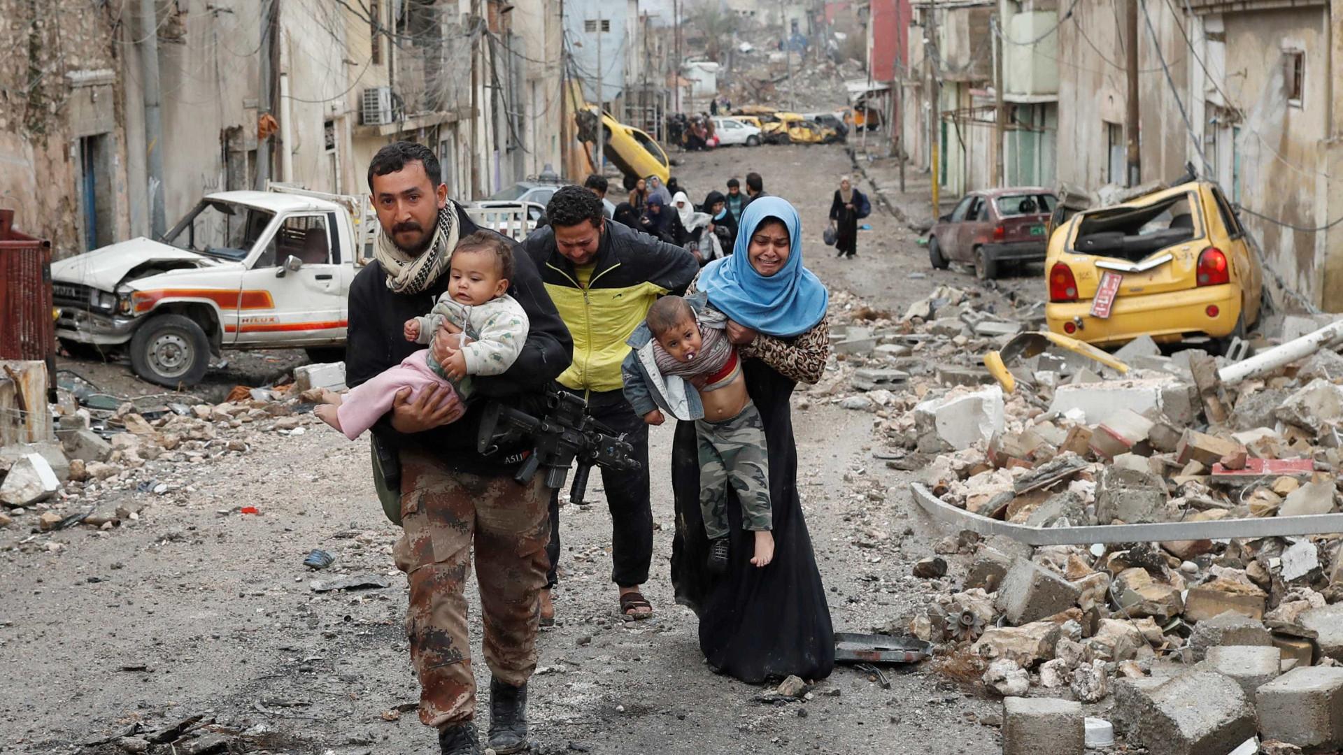 Pelo menos 9000 civis mortos na batalha contra o Daesh em Mossul
