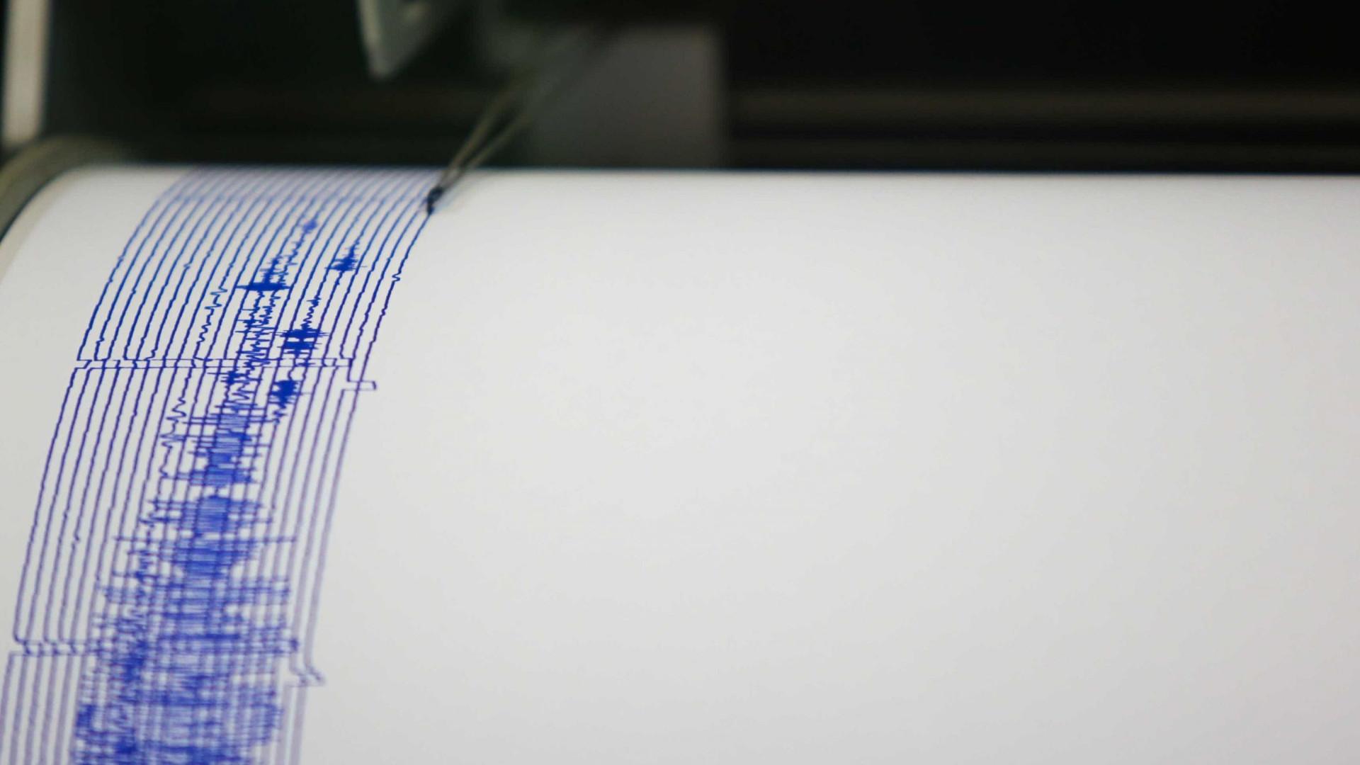 Sismo com magnitude de 2.1 registado nos Açores