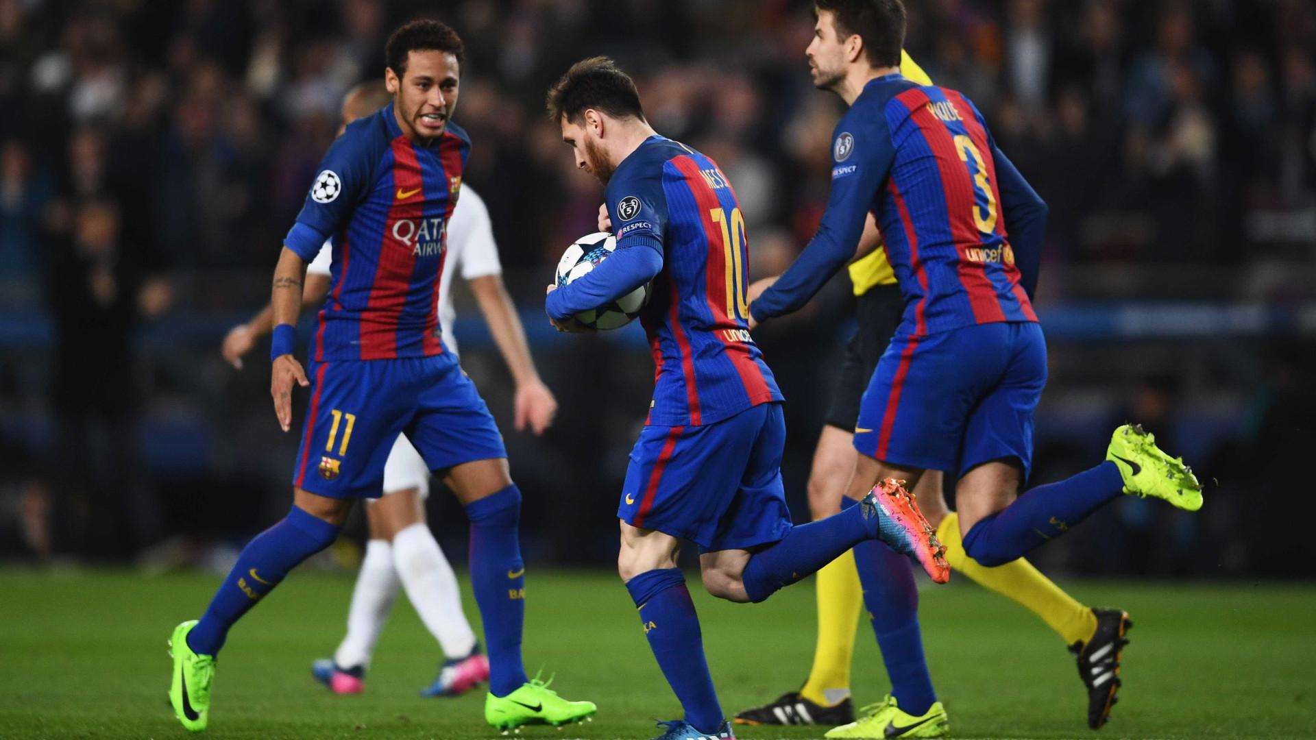 Piqué: A ovação de Camp Nou e os assobios a Ronaldo