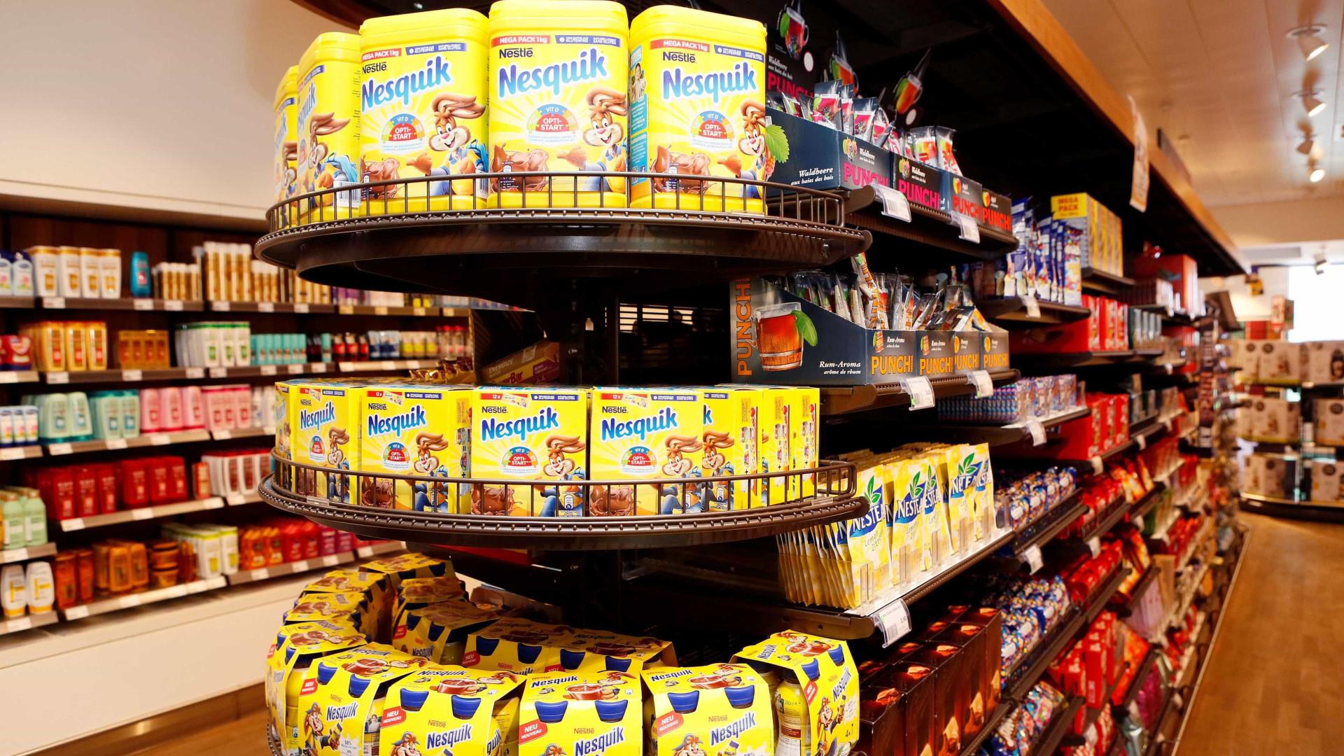 Vendas da Nestlé crescem no primeiro trimestre para 19,6 mil milhões