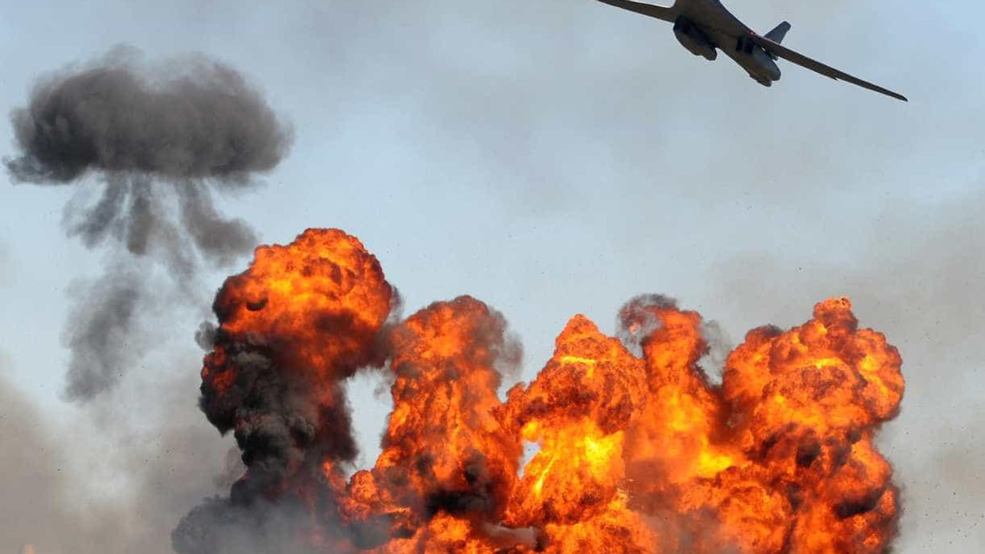 Ataques aéreos russos na Síria matam 21 civis, incluindo nove crianças
