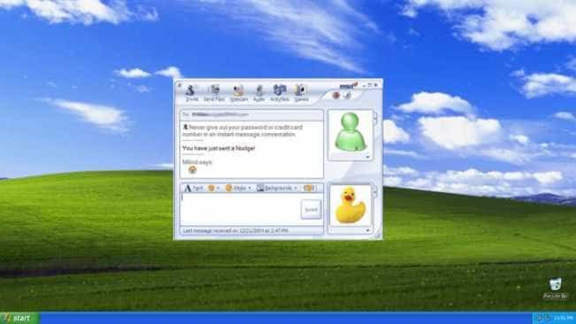Recorde o MSN Messenger e os detalhes que deixaram mais saudades