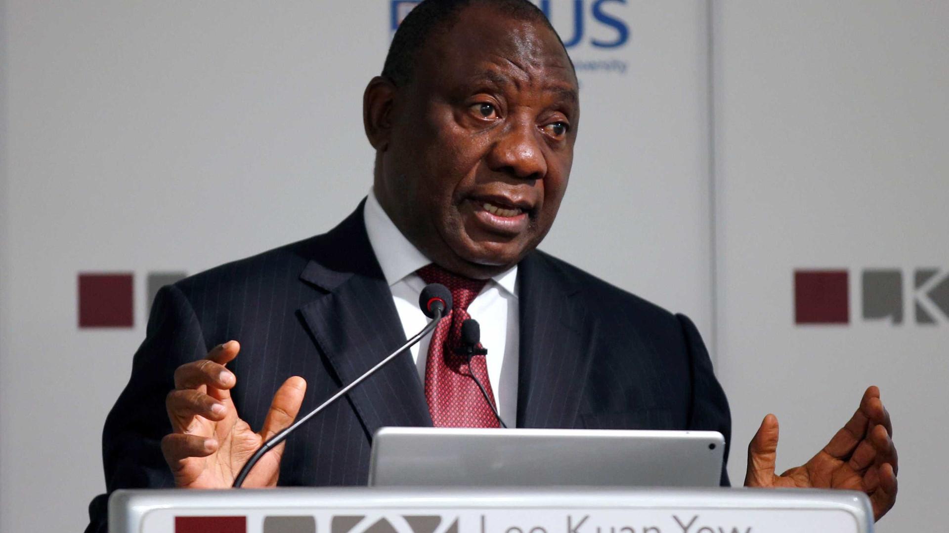 Ramaphosa elogia Kabila por não se recandidatar na RDCongo