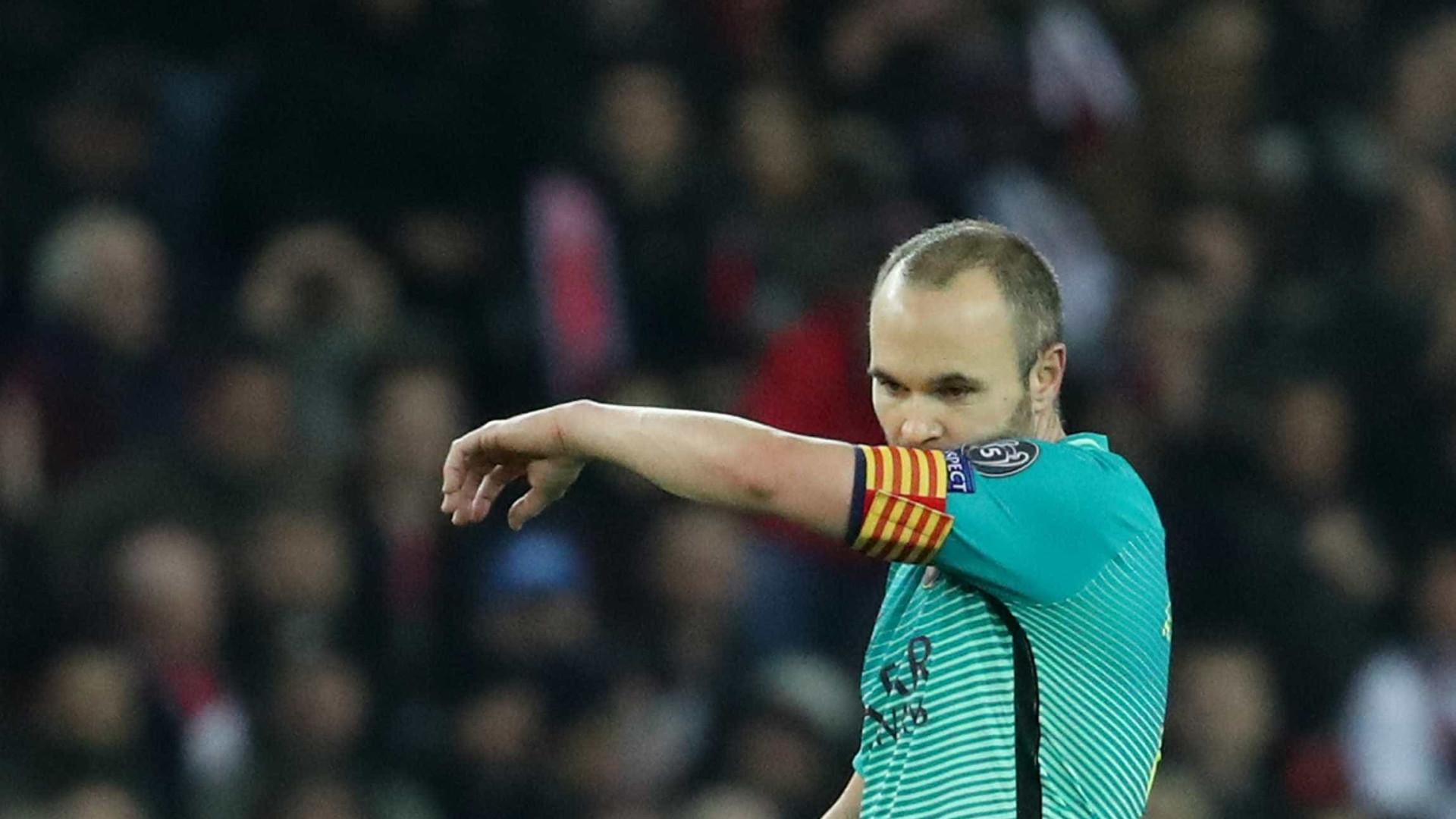Futuro de Iniesta está 'em jogo' e com data marcada